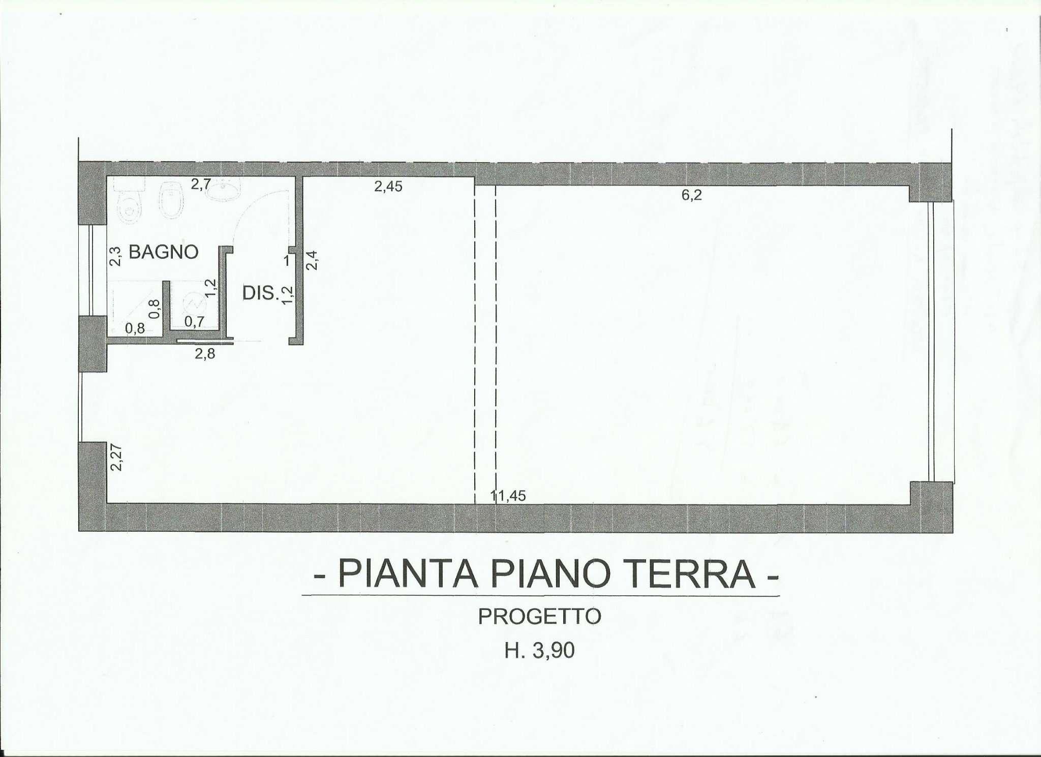 Negozio / Locale in affitto a Cesate, 2 locali, prezzo € 600 | PortaleAgenzieImmobiliari.it