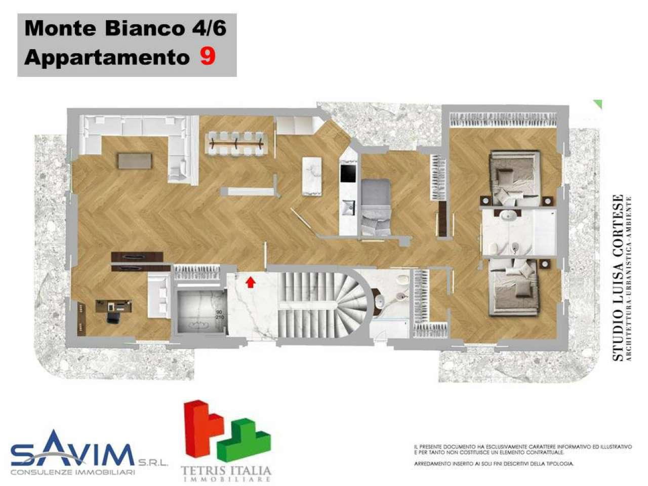 Appartamento in vendita a Milano, 4 locali, zona Zona: 15 . Fiera, Firenze, Sempione, Pagano, Amendola, Paolo Sarpi, Arena, prezzo € 1.100.000 | CambioCasa.it