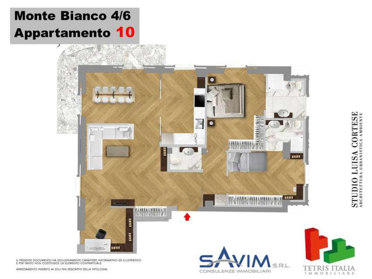 Appartamento in vendita a Milano, 3 locali, zona Zona: 15 . Fiera, Firenze, Sempione, Pagano, Amendola, Paolo Sarpi, Arena, prezzo € 830.000 | CambioCasa.it