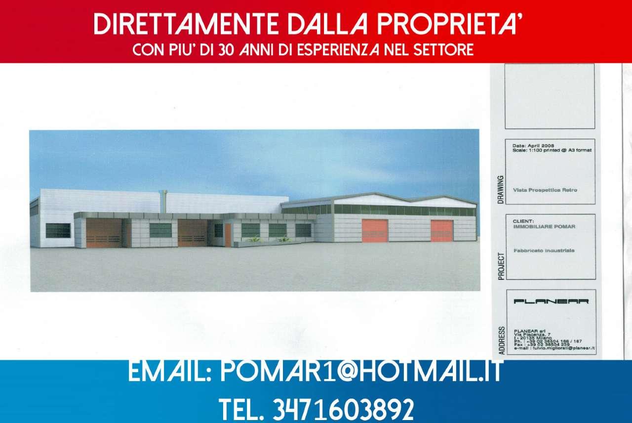 Capannone in affitto a Rozzano, 10 locali, prezzo € 2.900   CambioCasa.it