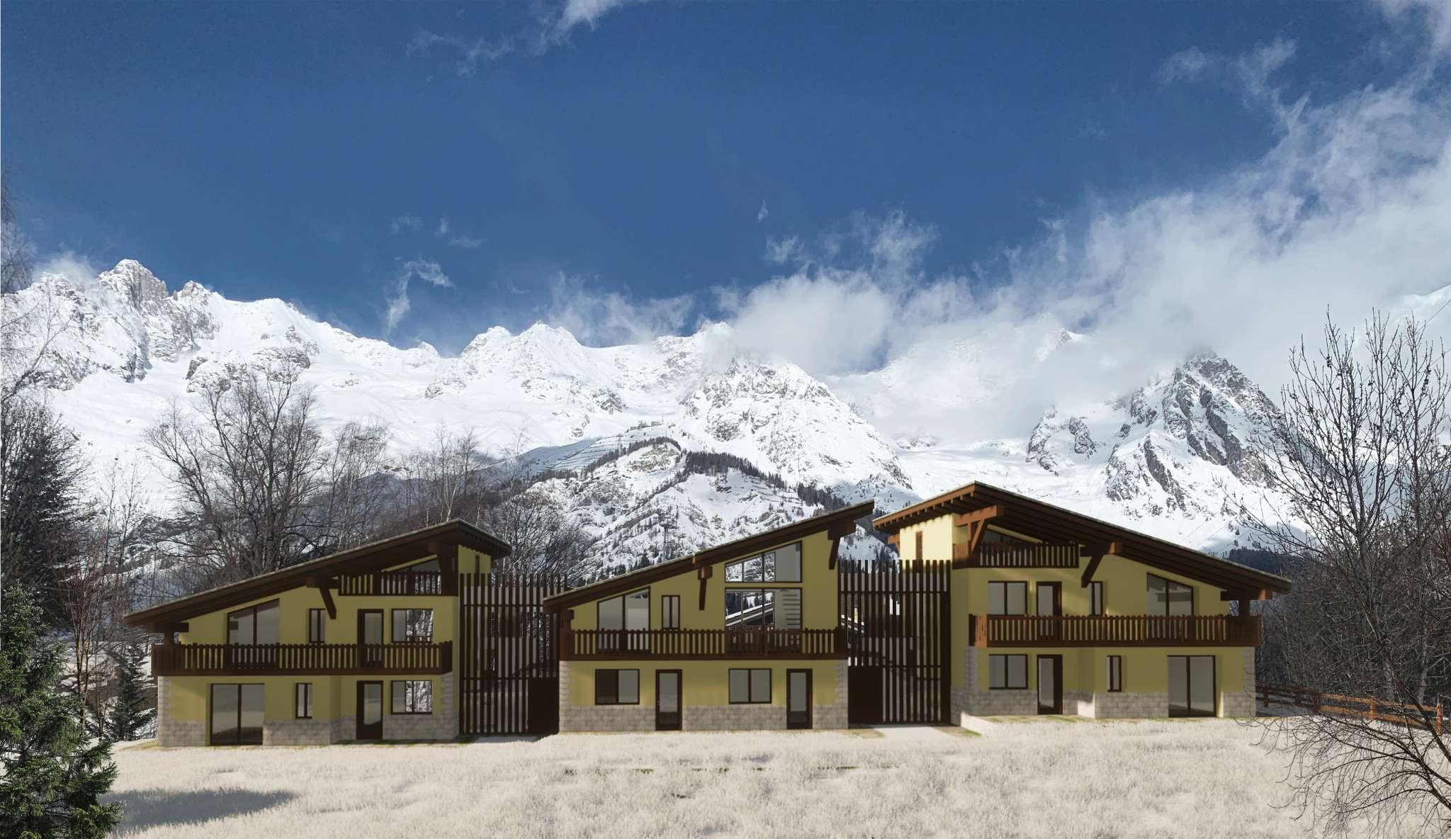 Palazzo / Stabile in vendita a Courmayeur, 10 locali, prezzo € 550.000 | PortaleAgenzieImmobiliari.it