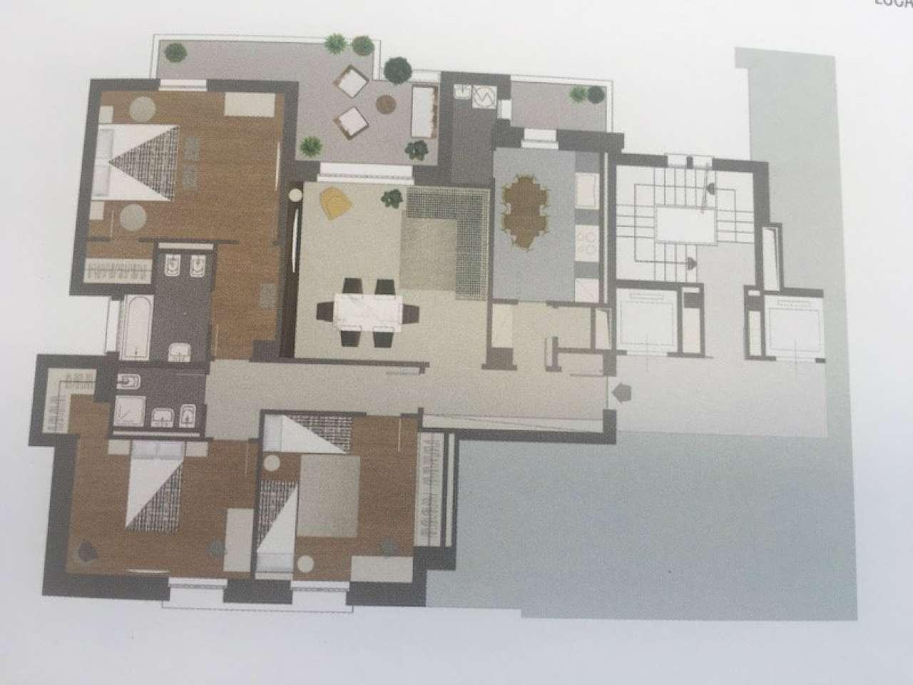 Appartamento in buone condizioni arredato in affitto Rif. 8175334
