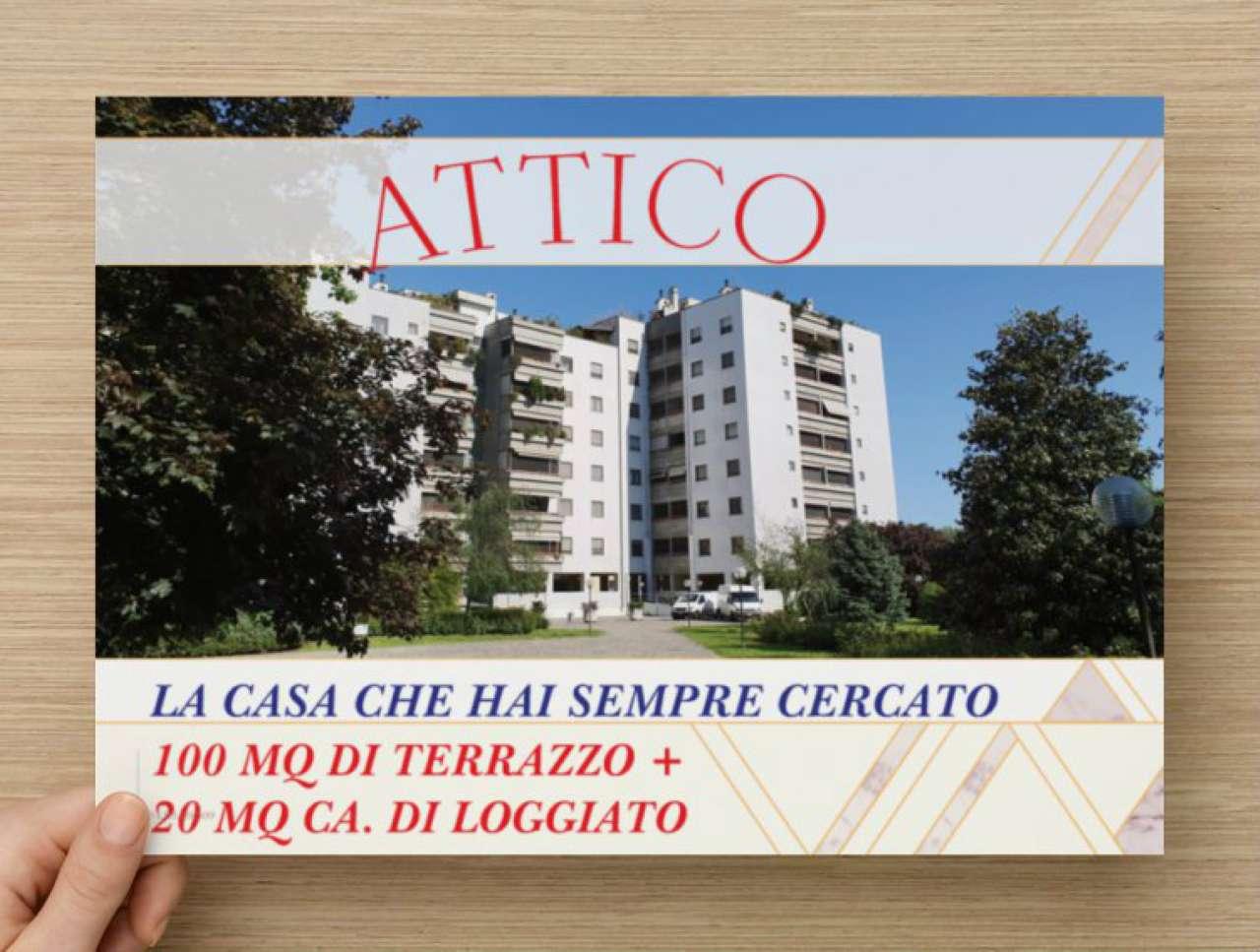 Attico / Mansarda in vendita a Rozzano, 3 locali, prezzo € 280.000 | PortaleAgenzieImmobiliari.it