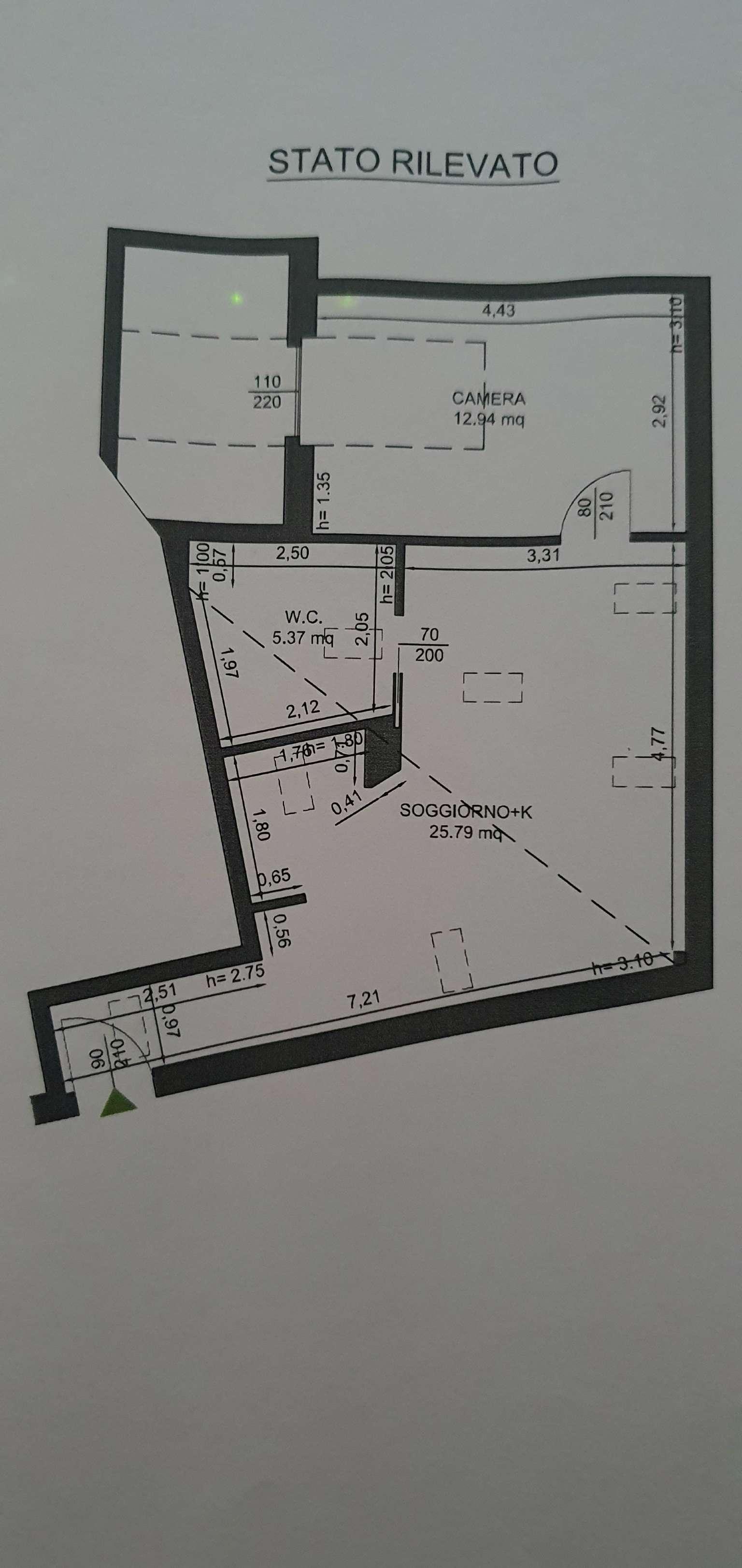Attico / Mansarda in vendita a Rozzano, 2 locali, prezzo € 89.000 | PortaleAgenzieImmobiliari.it