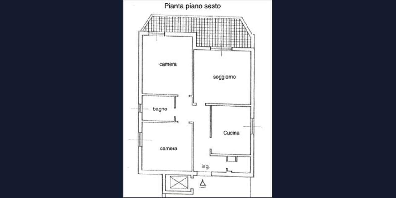 Appartamento in buone condizioni in vendita Rif. 7890785
