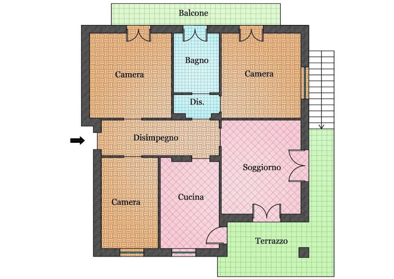 Appartamento in vendita Rif. 8521758