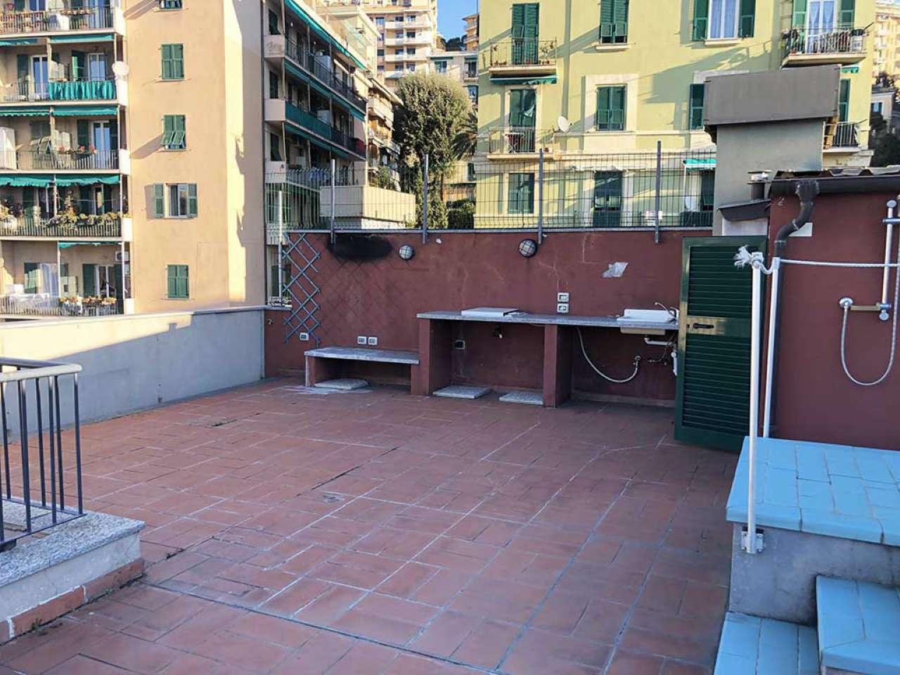 Genova Corso Europa Posizione interessantissima Attico mq 100 Callegari 010 3471027
