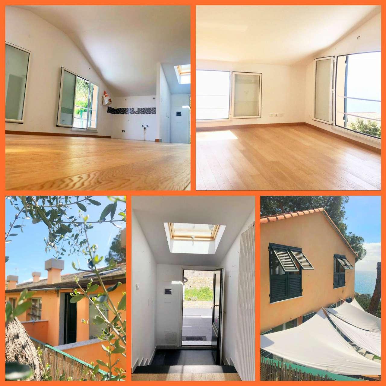 Attico / Mansarda in affitto a Bogliasco, 3 locali, prezzo € 700 | CambioCasa.it