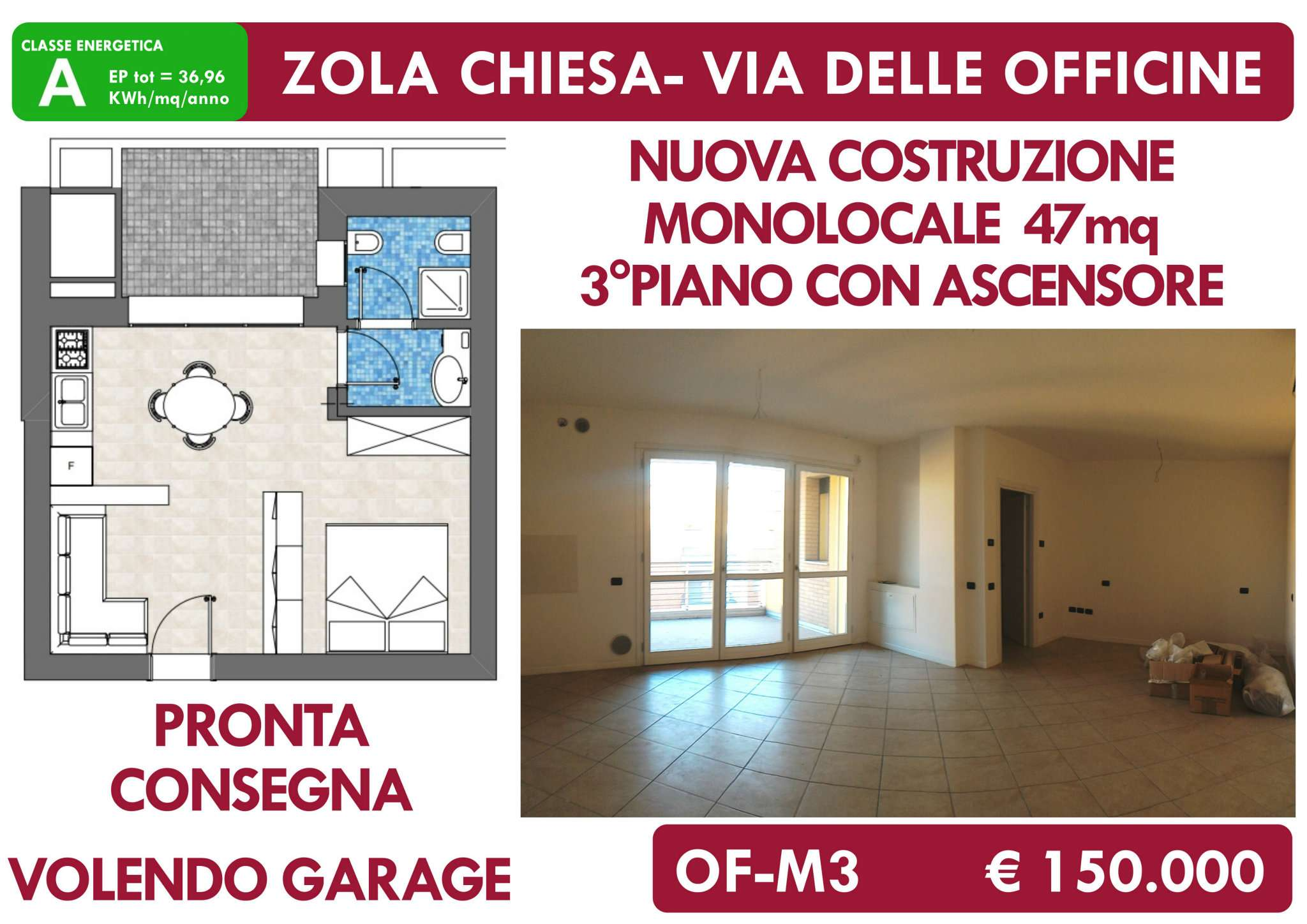 Appartamento in vendita Rif. 9273022