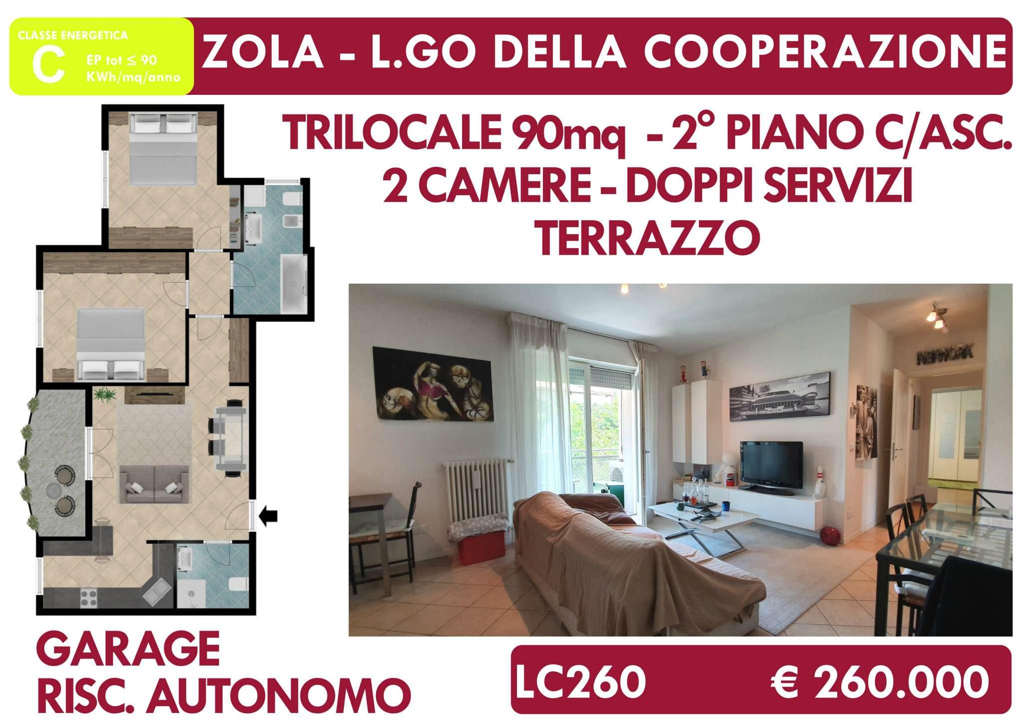 Appartamento in vendita a Zola Predosa, 3 locali, prezzo € 260.000 | PortaleAgenzieImmobiliari.it