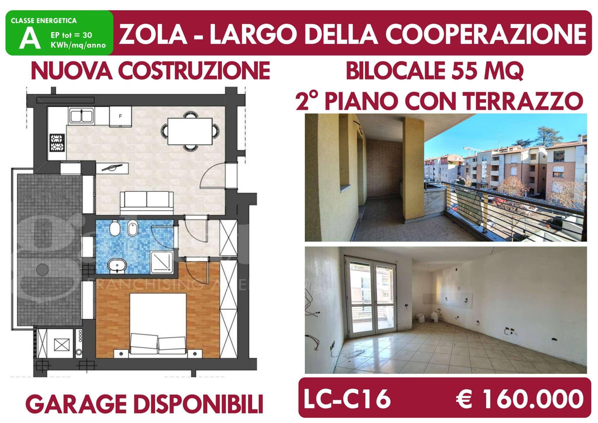 Appartamento in vendita a Zola Predosa, 2 locali, prezzo € 160.000 | PortaleAgenzieImmobiliari.it