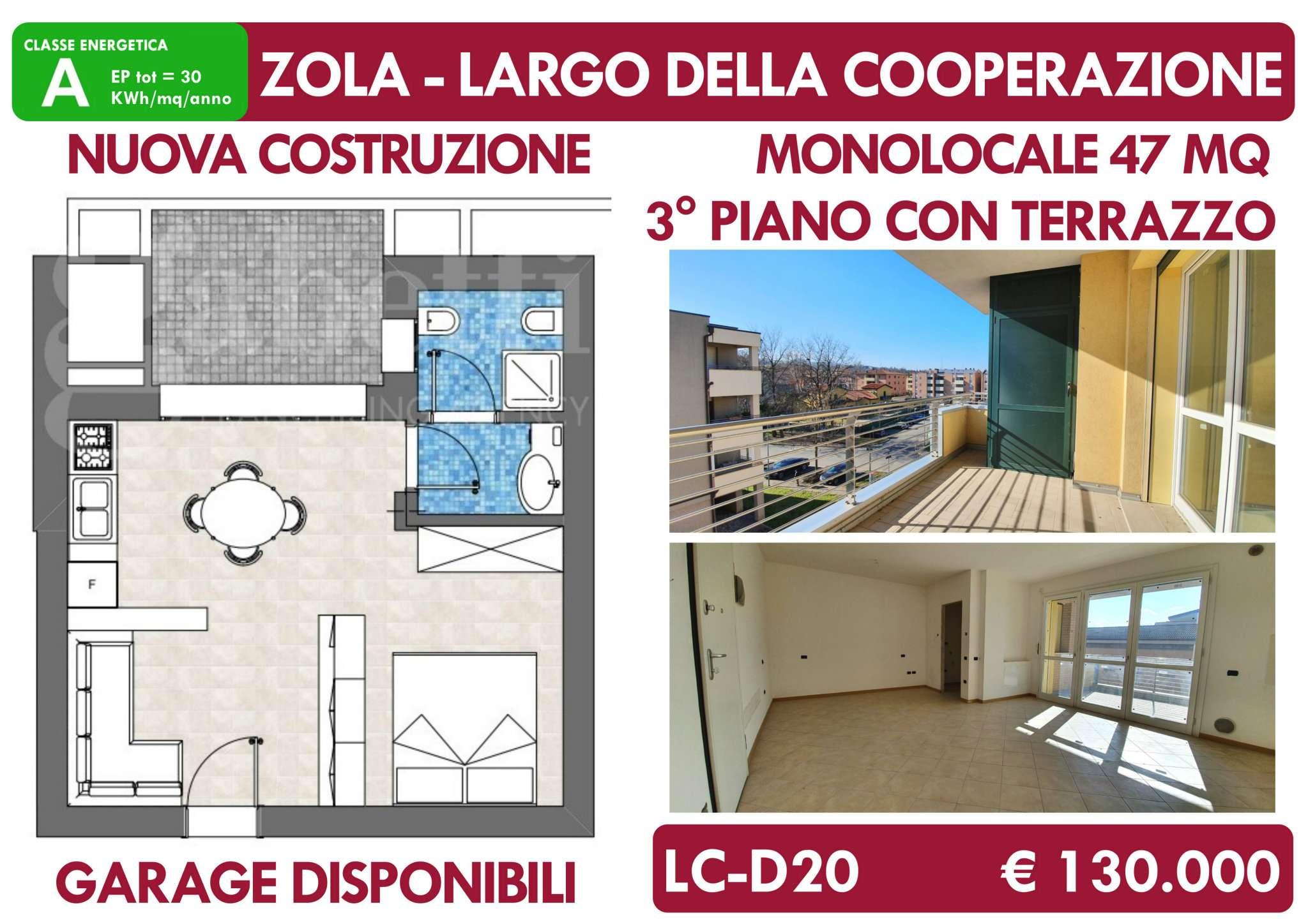 Appartamento in vendita a Zola Predosa, 1 locali, prezzo € 130.000 | PortaleAgenzieImmobiliari.it