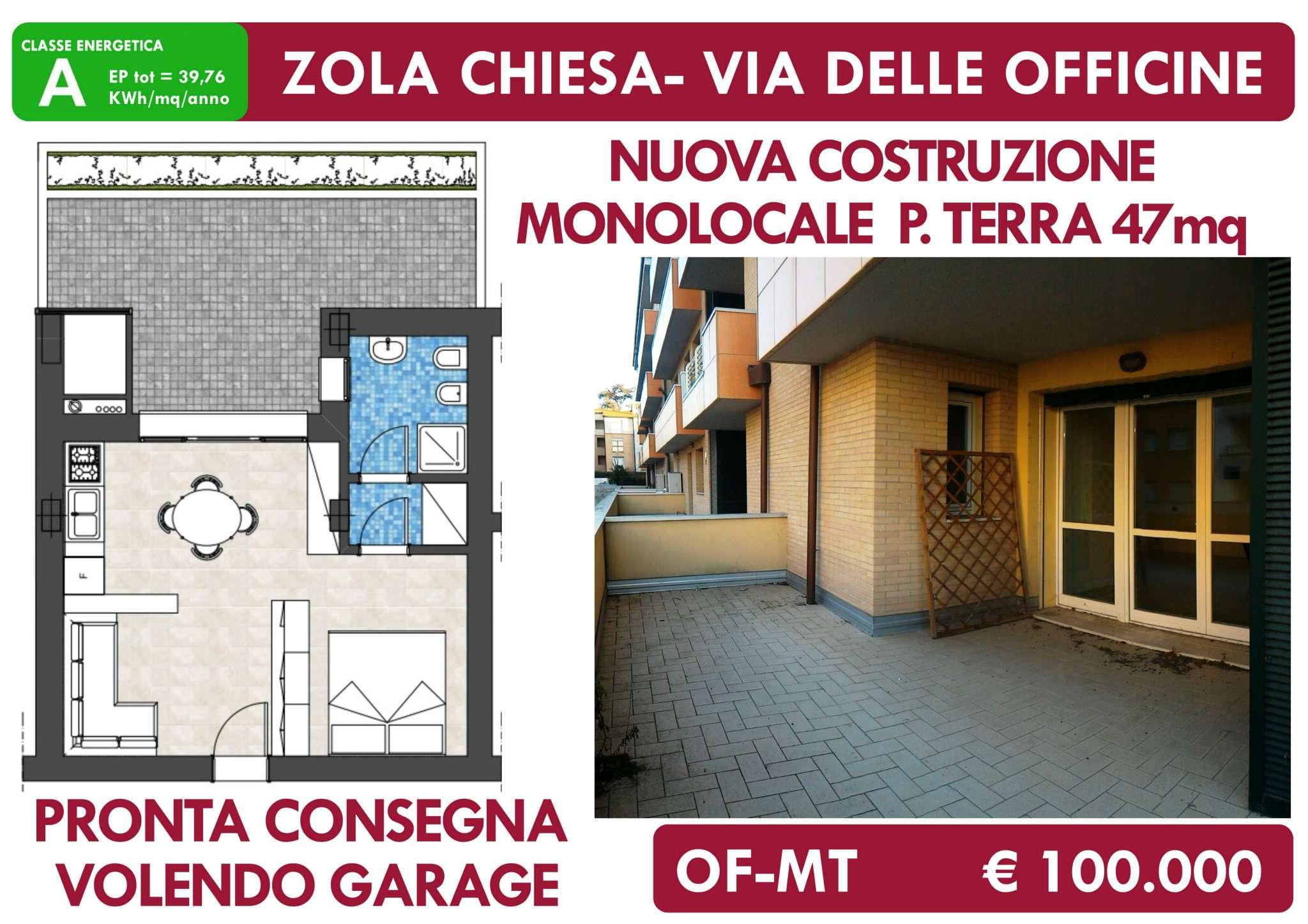 Appartamento in vendita a Zola Predosa, 1 locali, prezzo € 100.000 | PortaleAgenzieImmobiliari.it