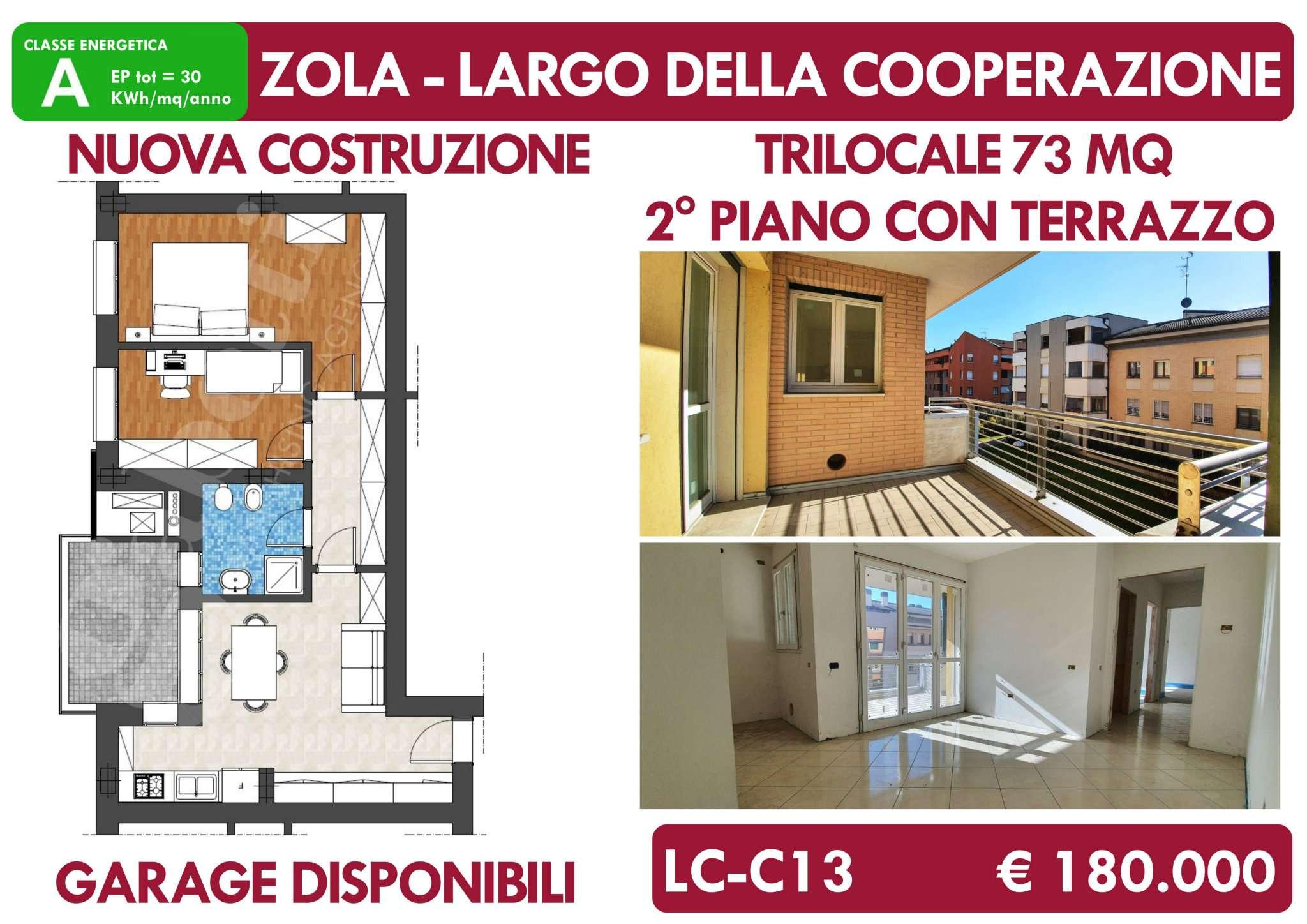 Appartamento in vendita a Zola Predosa, 3 locali, prezzo € 180.000 | PortaleAgenzieImmobiliari.it