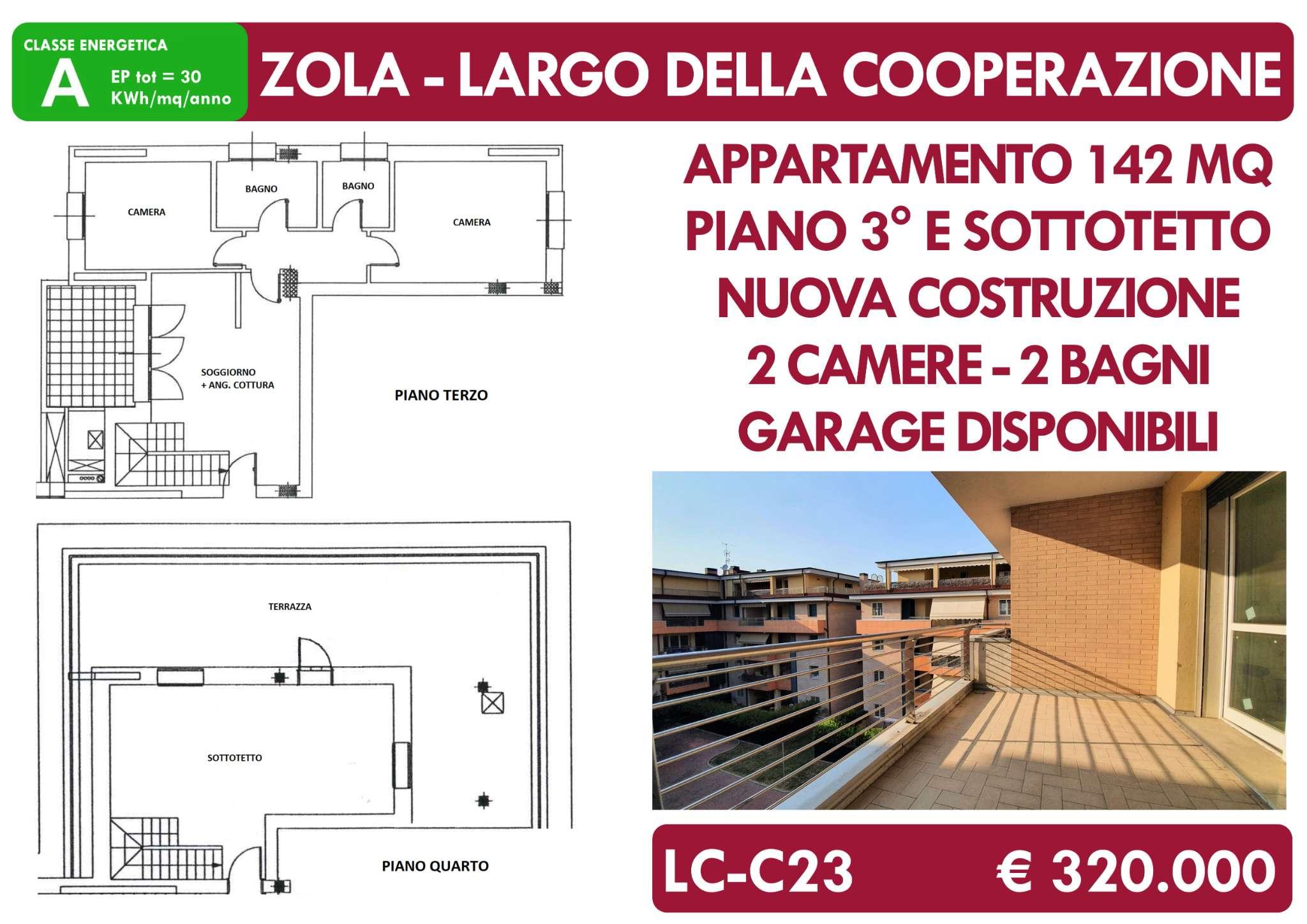 Appartamento in vendita a Zola Predosa, 3 locali, prezzo € 320.000 | PortaleAgenzieImmobiliari.it