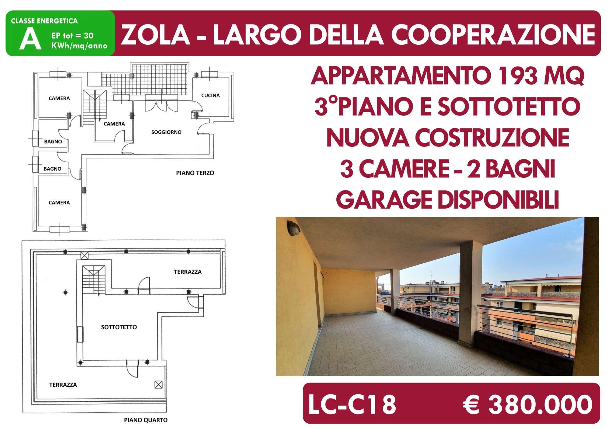 Appartamento in vendita a Zola Predosa, 5 locali, prezzo € 380.000 | PortaleAgenzieImmobiliari.it