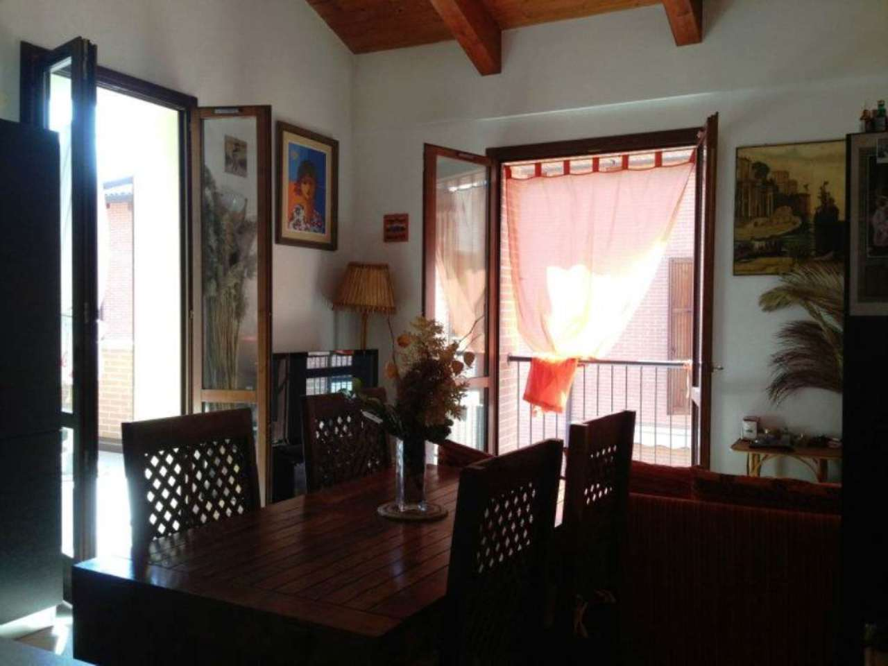 Appartamento con mansarda e terrazzo abitabile, centro Sasso Marconi