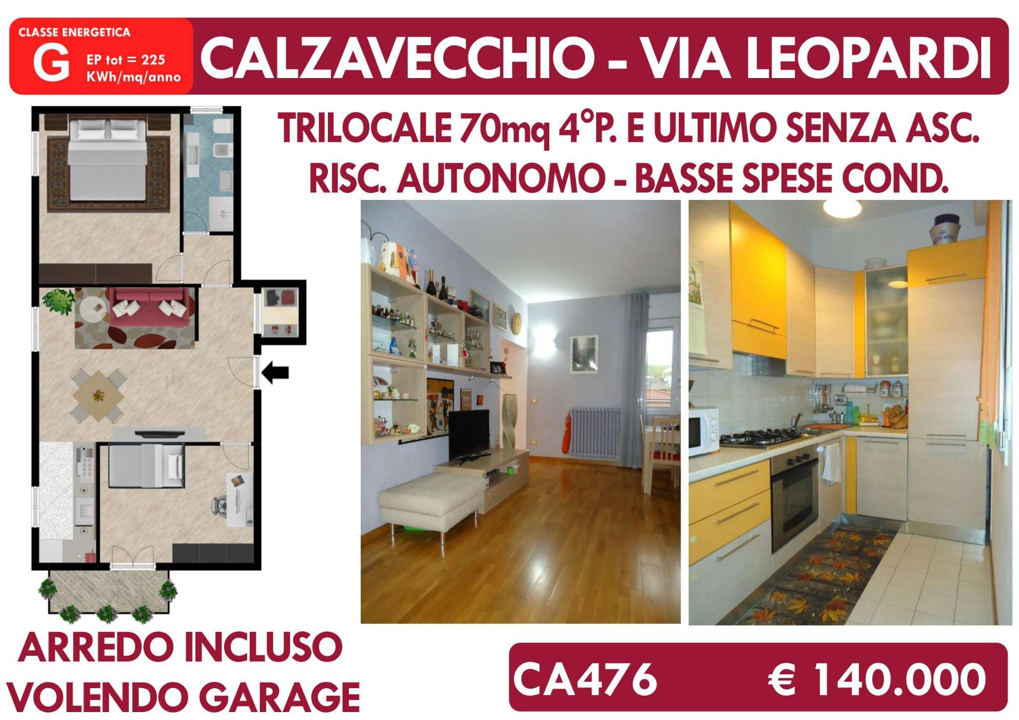 Appartamento ristrutturato arredato in vendita Rif. 8760212