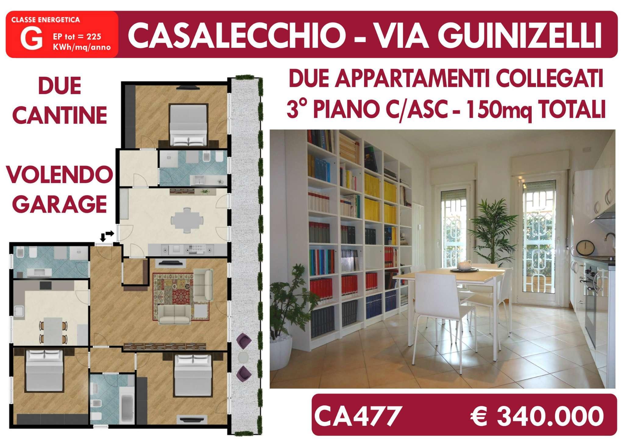 Appartamento ristrutturato parzialmente arredato in vendita Rif. 8831337