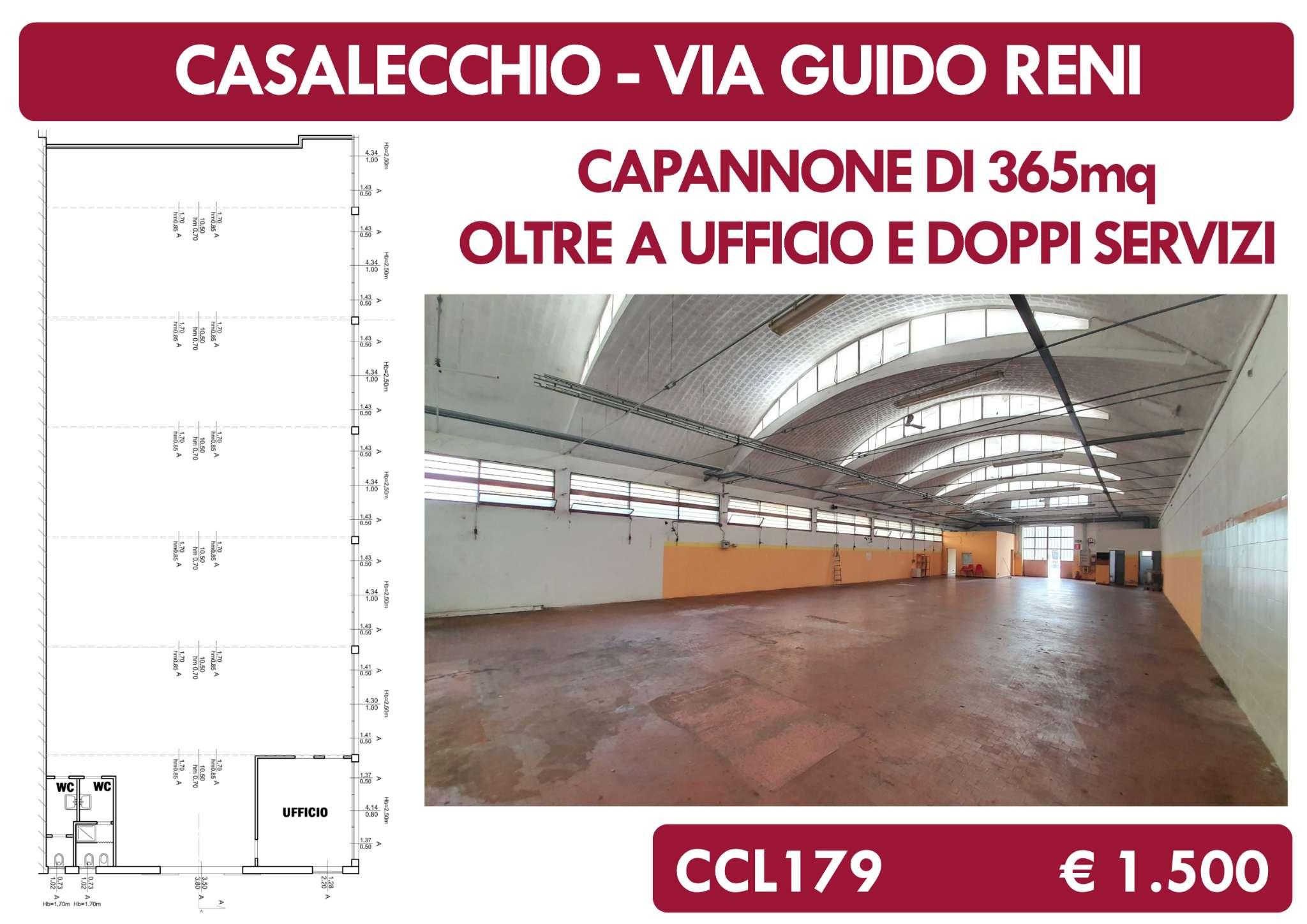 Capannone in affitto a Casalecchio di Reno, 1 locali, prezzo € 1.500 | CambioCasa.it