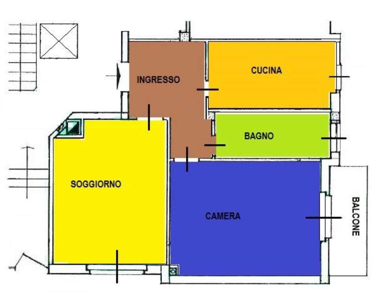 Appartamento in buone condizioni in affitto Rif. 9195110