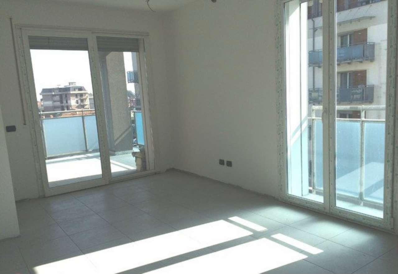 Corbetta di nuova costruzione ottimo appartamento di tre locali non arredato, completo di cantina.