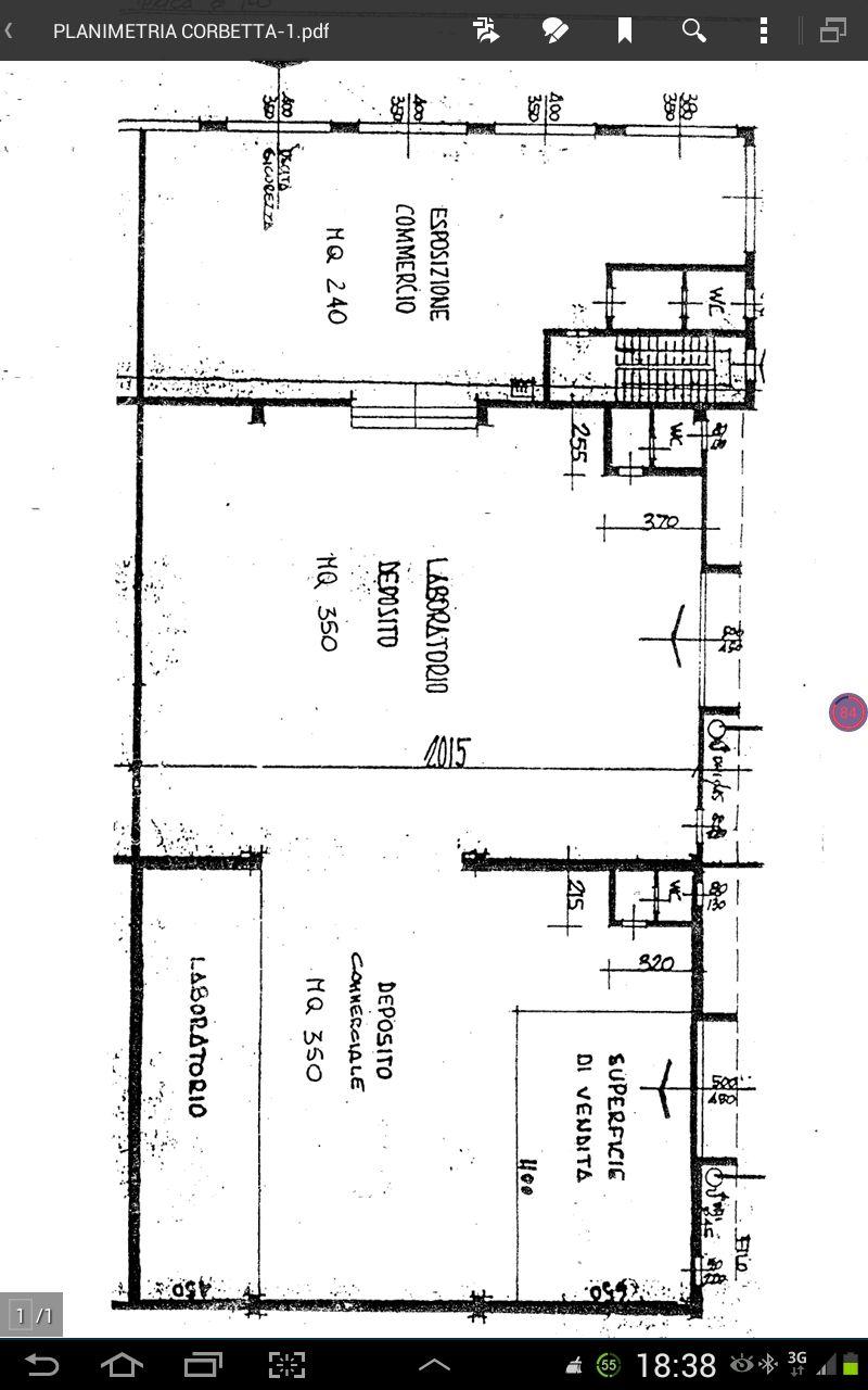 Immobile Commerciale in affitto a Corbetta, 9999 locali, prezzo € 6.833 | CambioCasa.it