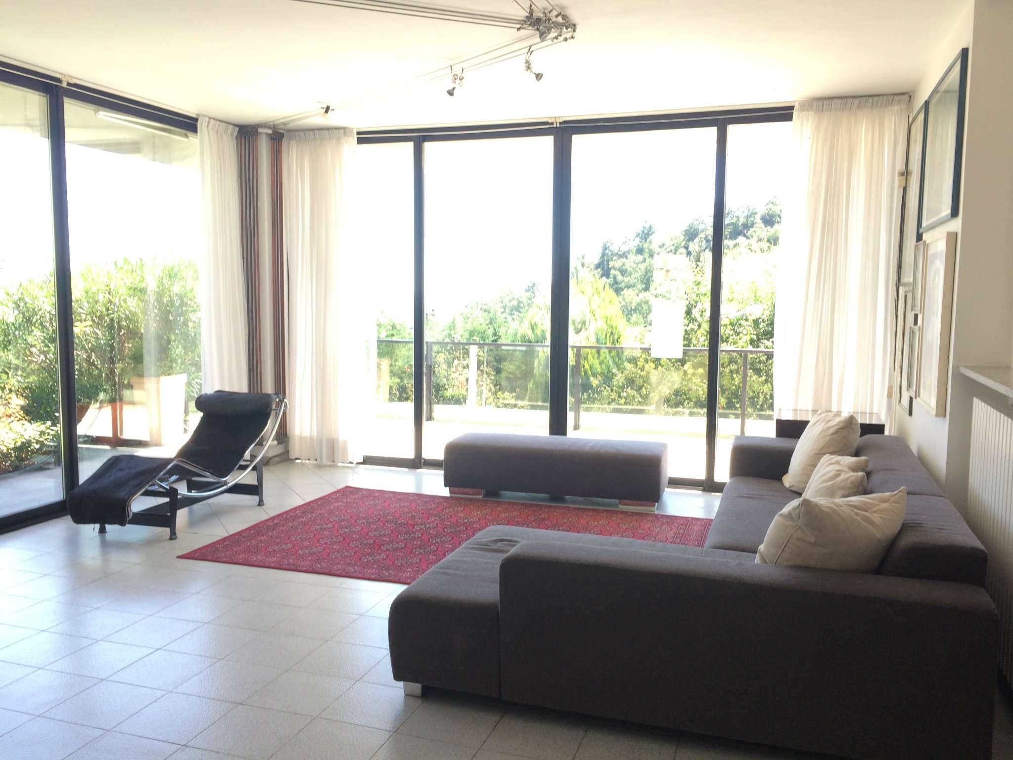 Panoramico appartamento in villa a Pecetto Torinese