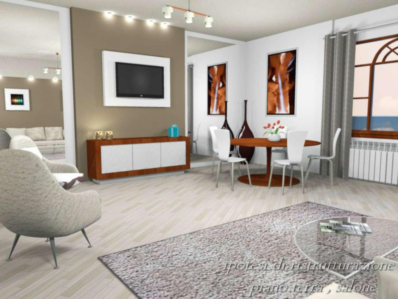 Villa Tri-Quadrifamiliare in vendita a Roma, 8 locali, zona Zona: 22 . Eur - Torrino - Spinaceto, prezzo € 350.000 | CambioCasa.it