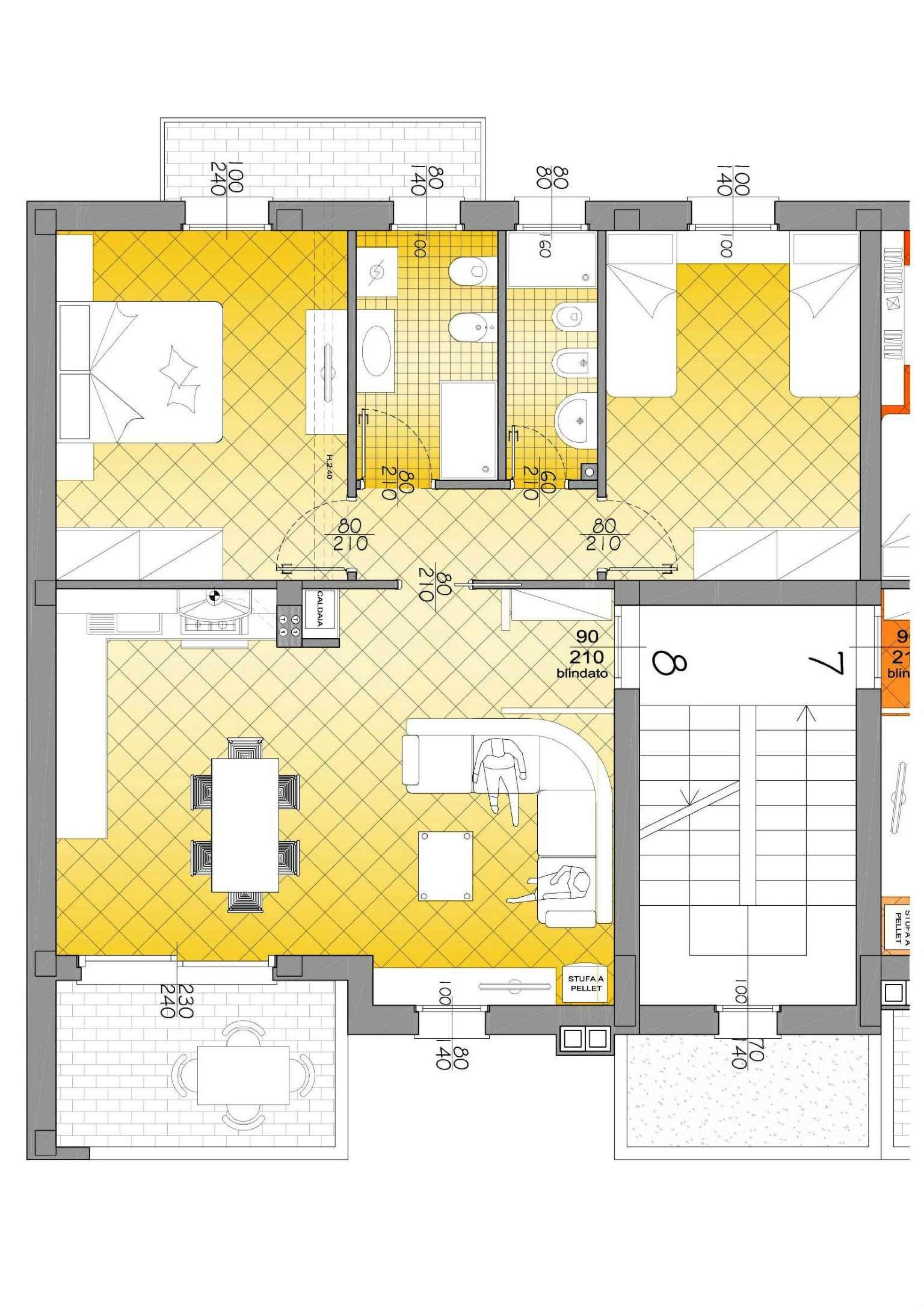 Appartamento in vendita a Edolo, 4 locali, prezzo € 130.000 | CambioCasa.it
