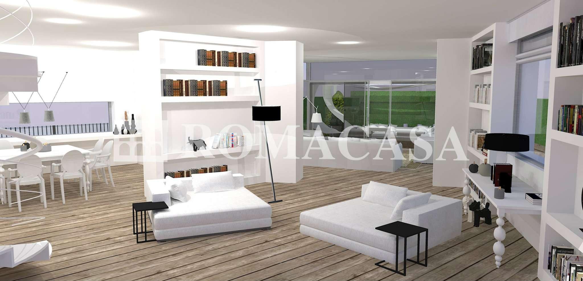 Attico / Mansarda in vendita a Roma, 10 locali, zona Zona: 32 - Fleming, Vignaclara, Monte Milvio, prezzo € 1.580.000 | CambioCasa.it