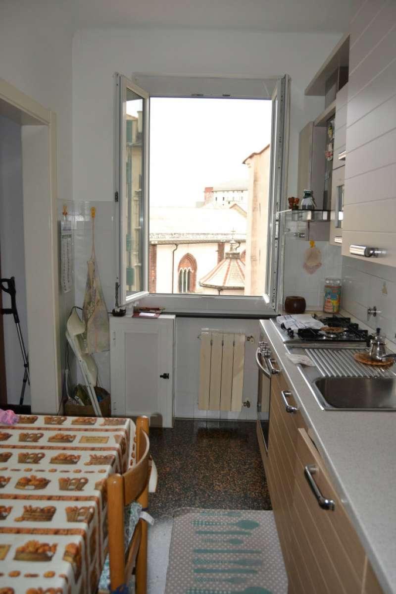 Appartamento genova vendita 65 mq riscaldamento for Cucina 9 genova