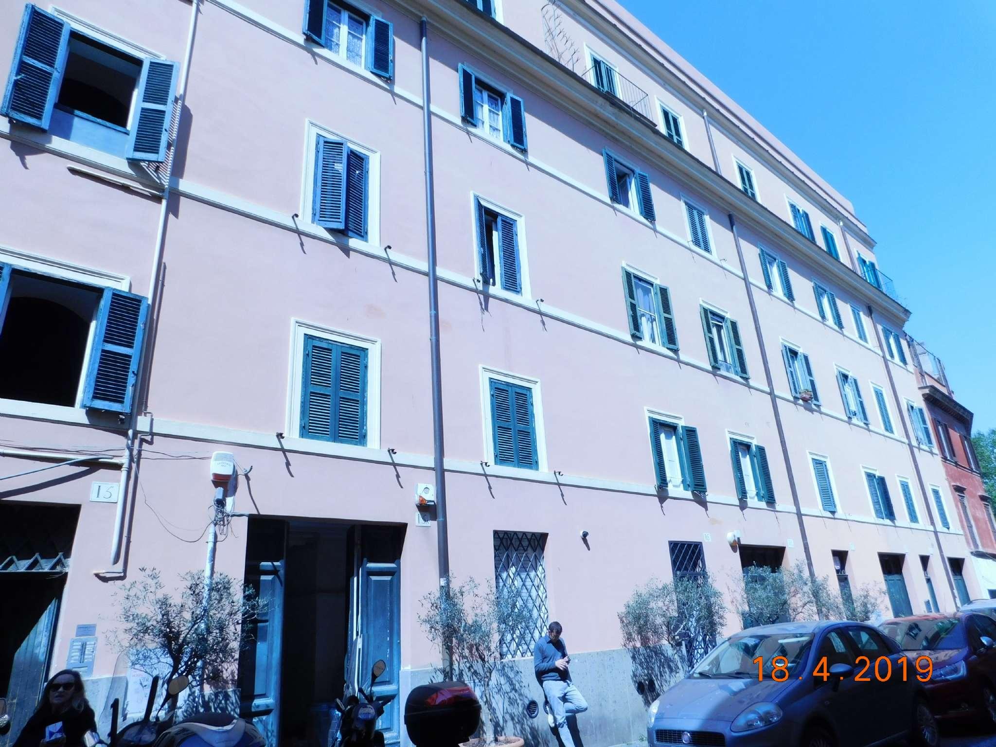 Appartamento in vendita a Roma, 2 locali, zona Zona: 25 . Trastevere - Testaccio, prezzo € 320.000 | CambioCasa.it