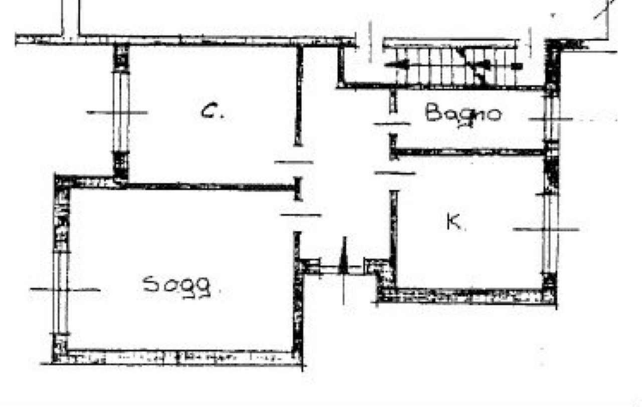 Pianta piano terra Appartamento 2