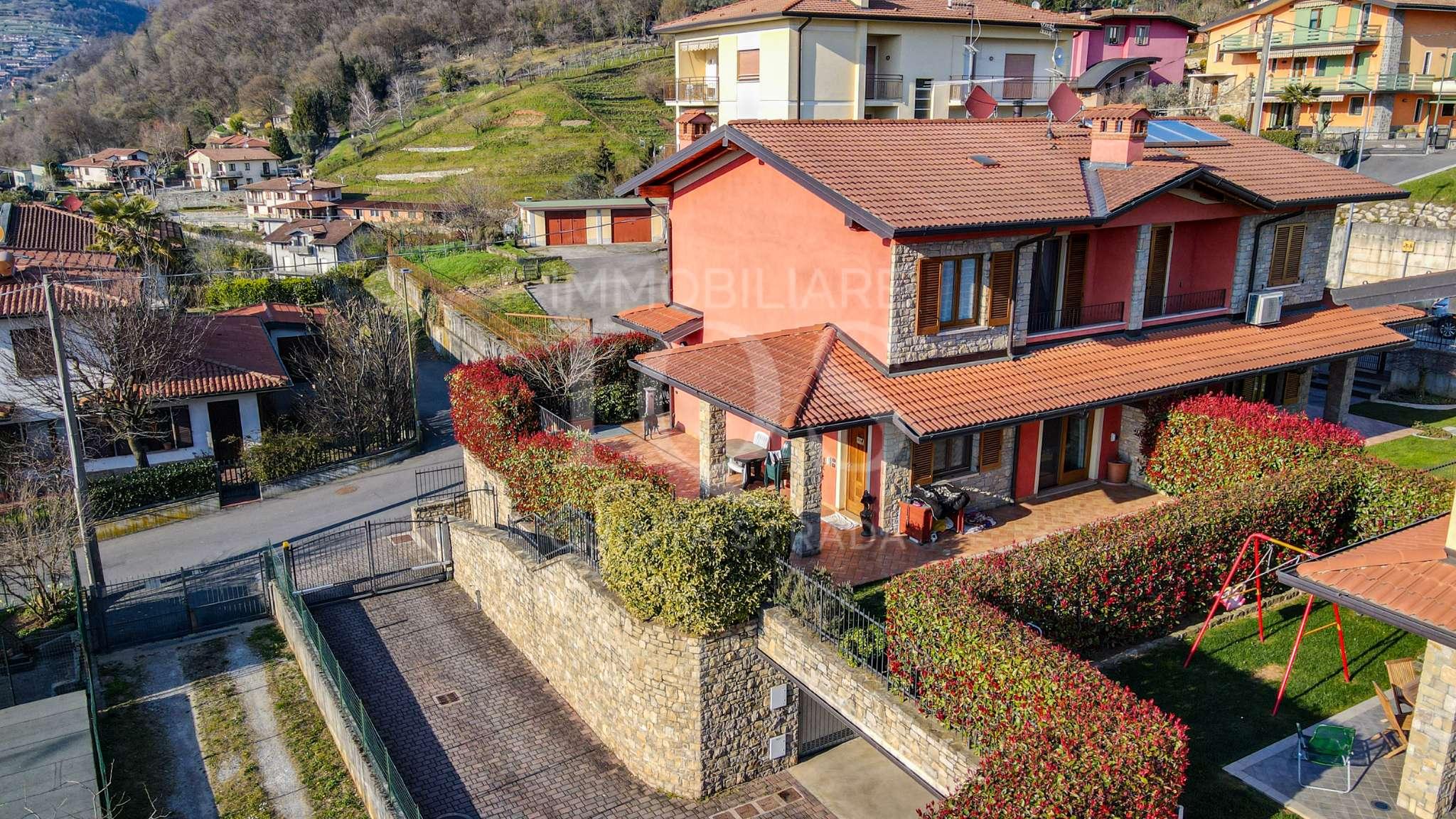 Villa Bifamiliare in vendita a Viadanica, 6 locali, prezzo € 265.000   PortaleAgenzieImmobiliari.it