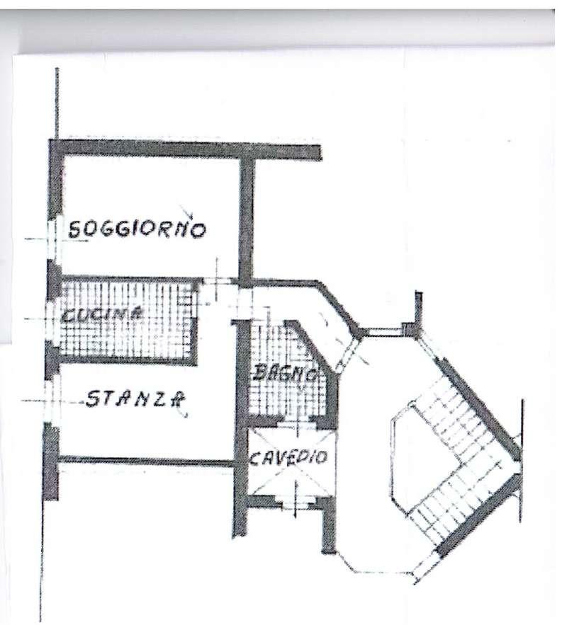 CLES Centrale,sogg+cucina+camera, arredato mq. 55 Euro