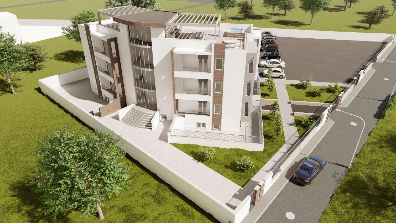 Brusciano , appartamenti di nuova costruzione con box  auto .