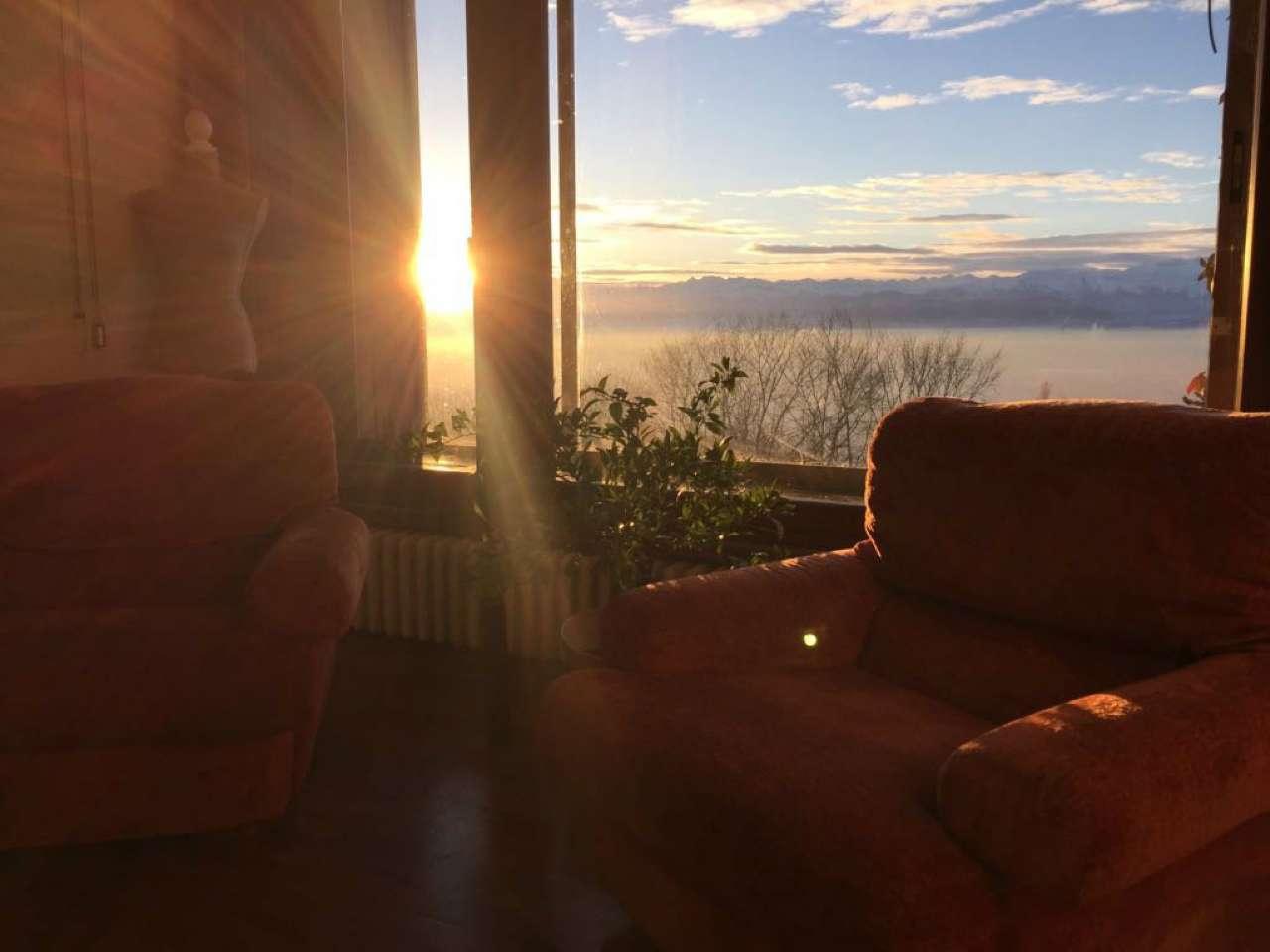 Collina, appartamento panoramico e soleggiato