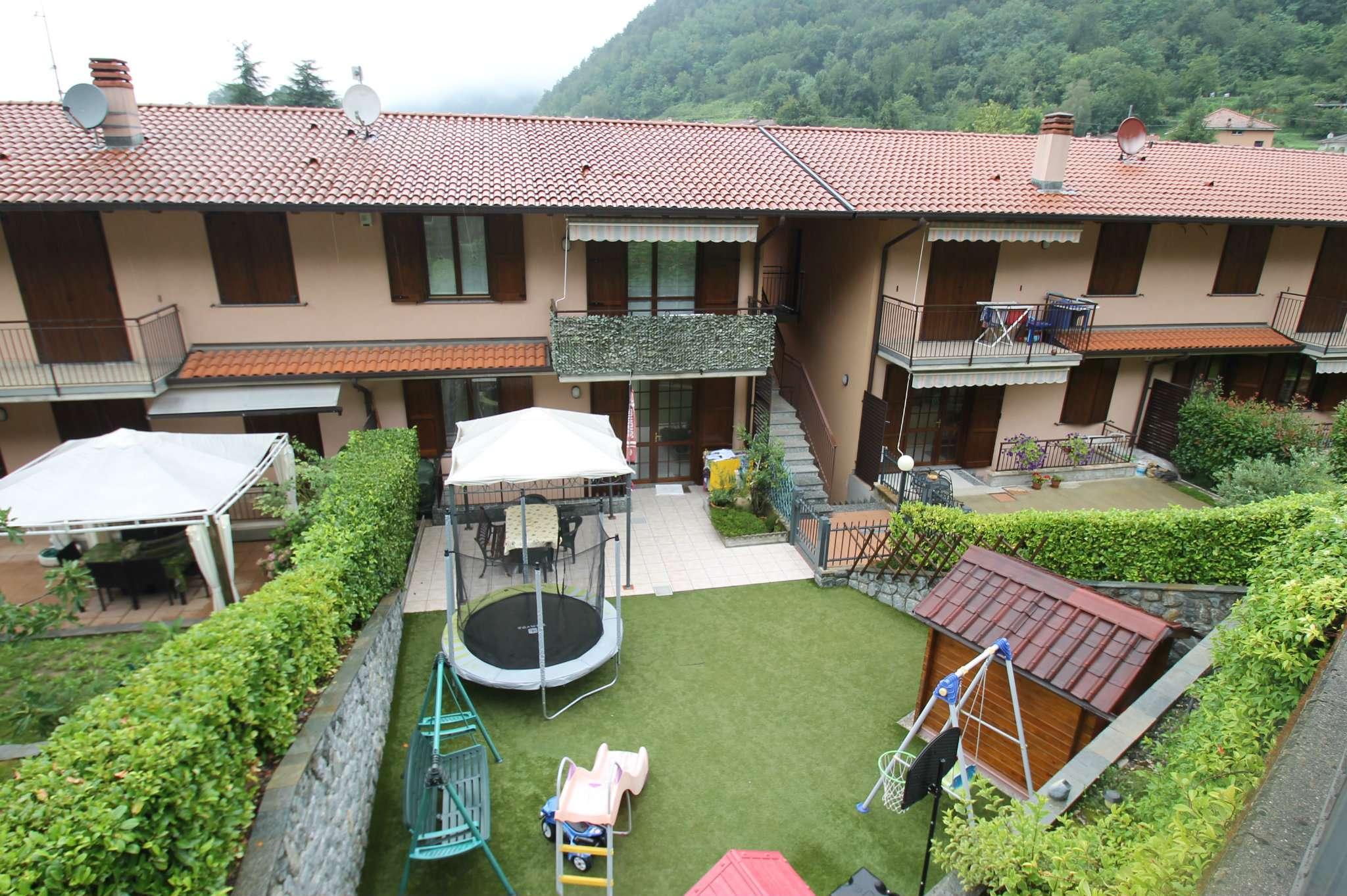 Appartamento trilocale con giardino in vendita a Torre de Busi