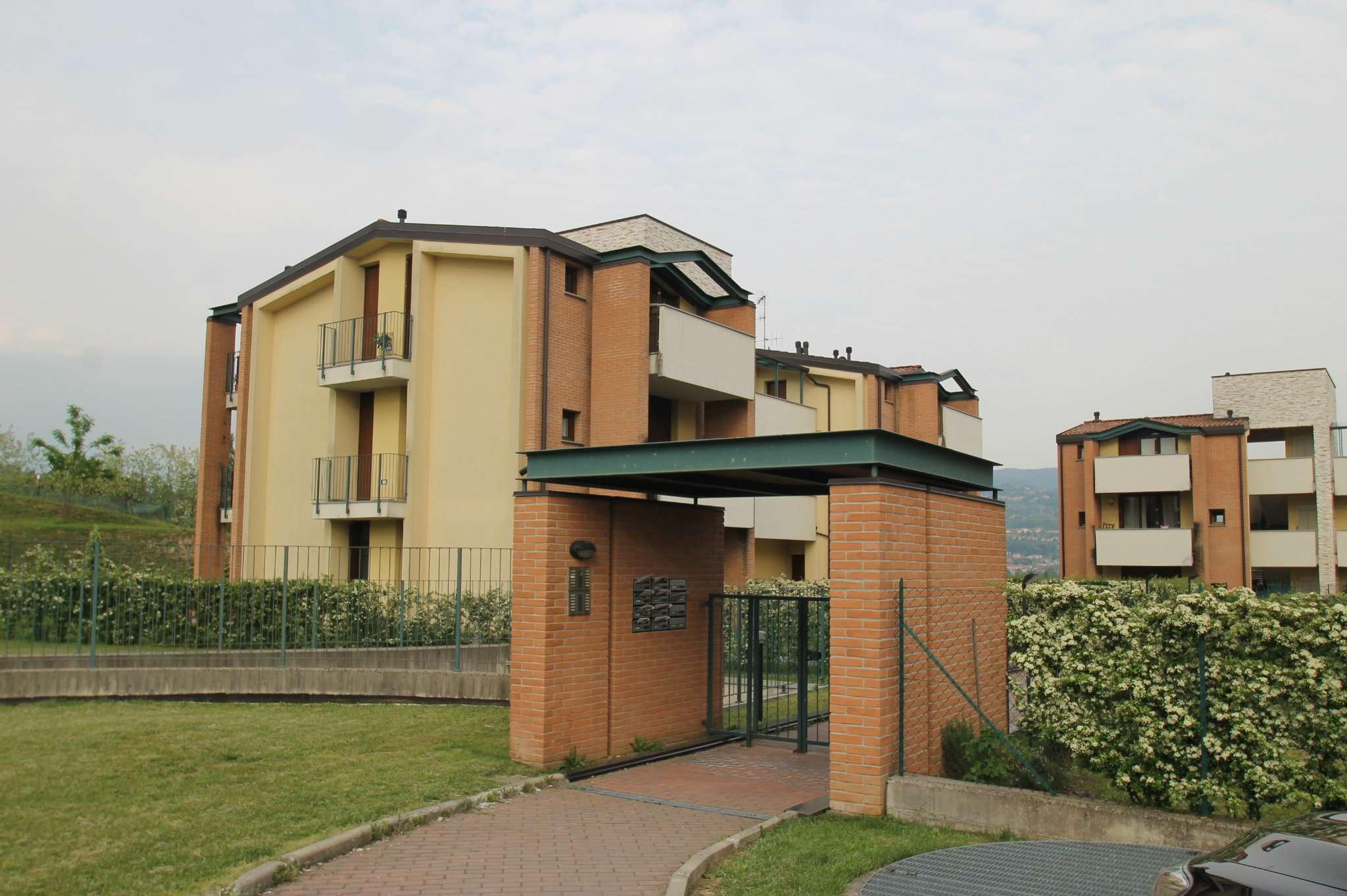 Appartamento trilocale al primo piano in affitto a Molteno