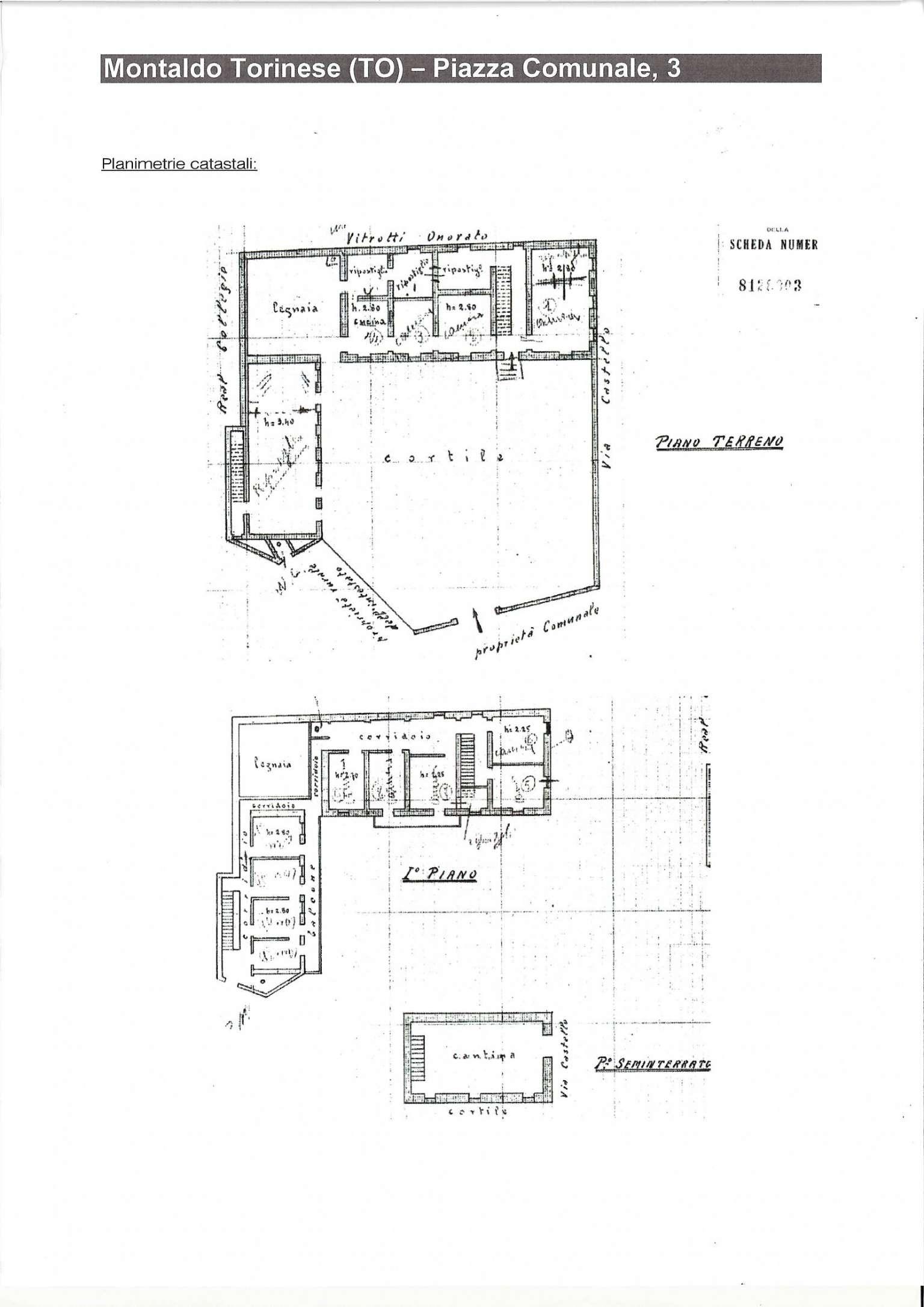 Palazzo / Stabile in vendita a Montaldo Torinese, 14 locali, Trattative riservate   PortaleAgenzieImmobiliari.it