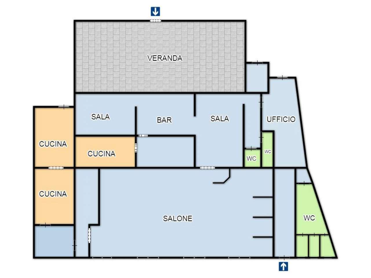 Negozio / Locale in affitto a Mignanego, 9999 locali, prezzo € 750 | CambioCasa.it