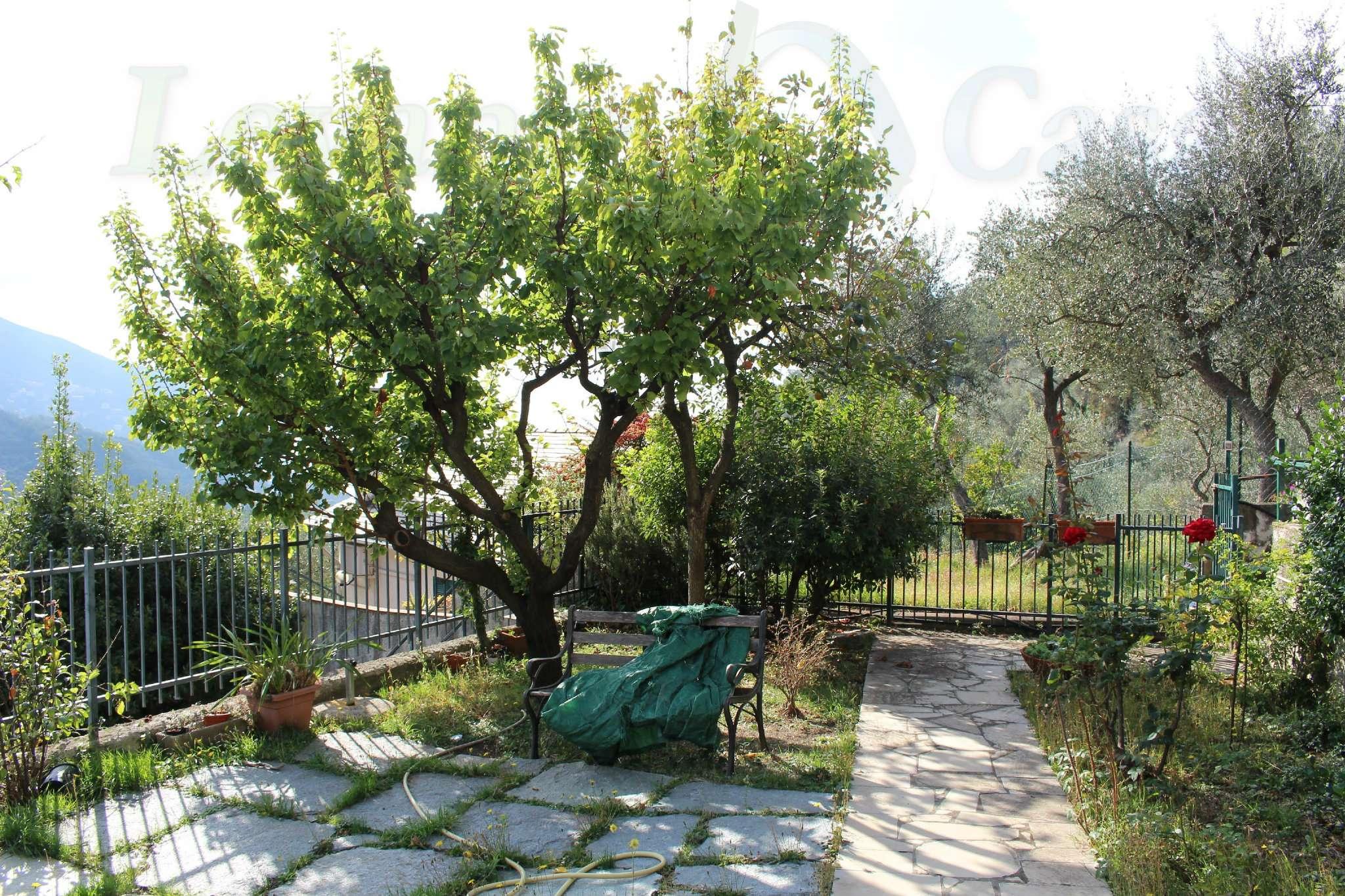 Moneglia - Trilocale con Giardino e Vista Mare
