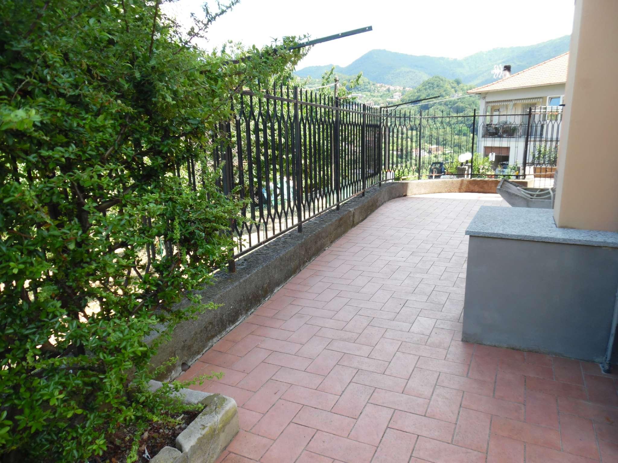 S. Olcese - Torrazza - 5.5 vani con gran giardino terrazzato