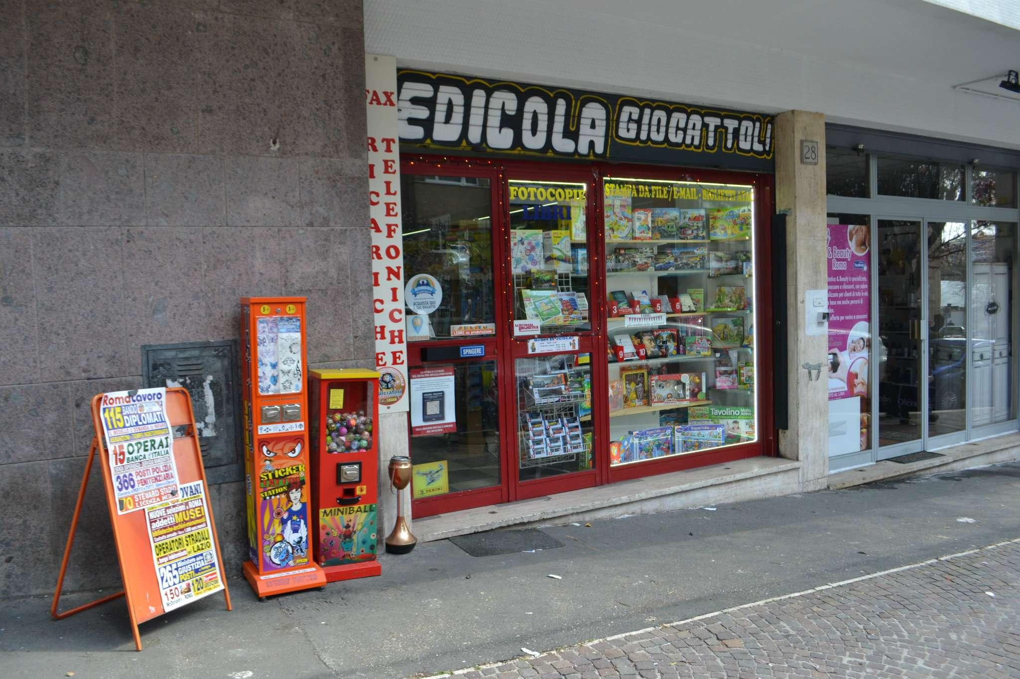 Attività / Licenza in vendita a Roma, 1 locali, zona Zona: 24 . Gianicolense - Colli Portuensi - Monteverde, prezzo € 39.000   CambioCasa.it