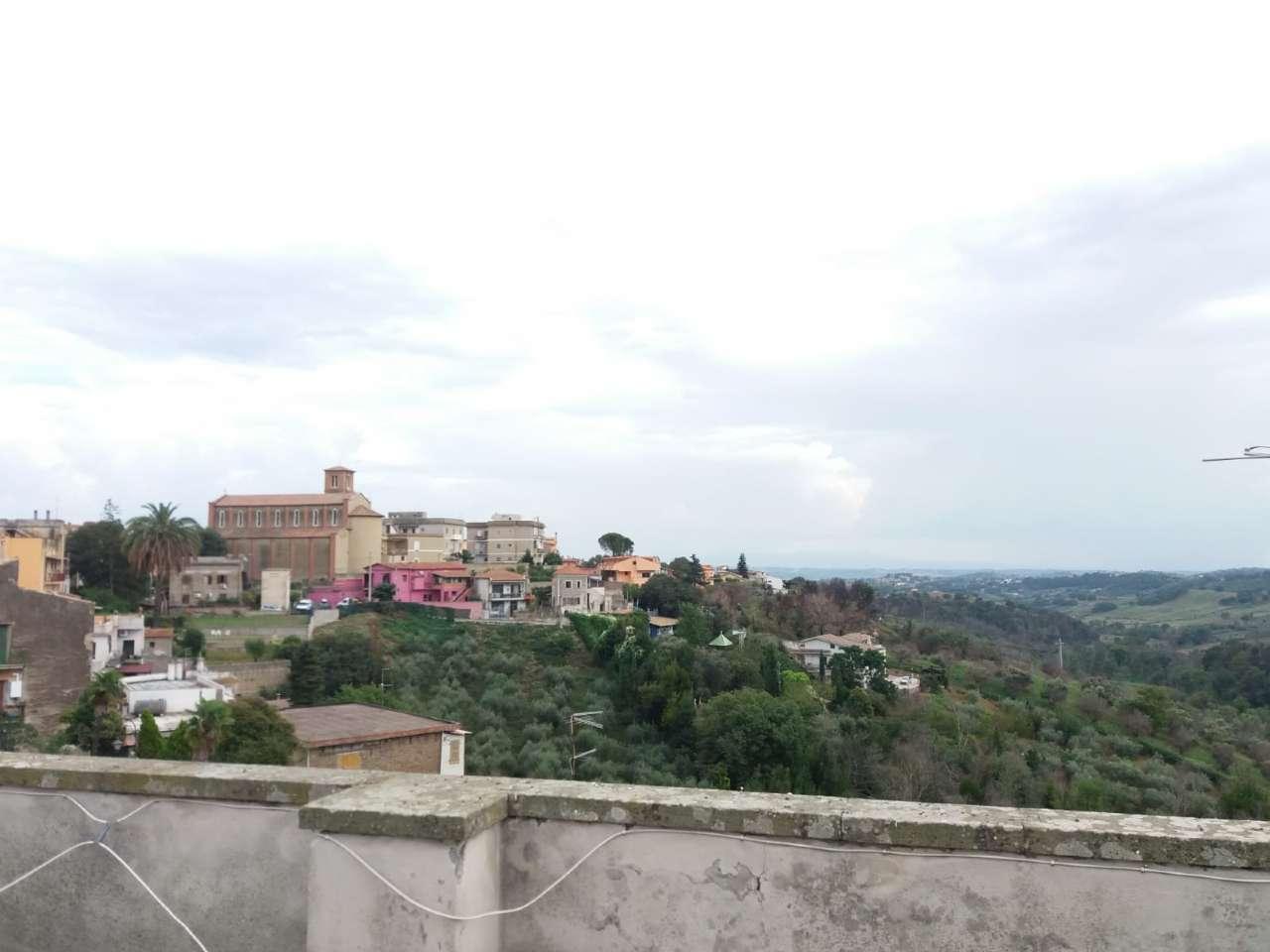 BILOCALE con terrazzo in palazzo storico a Capena