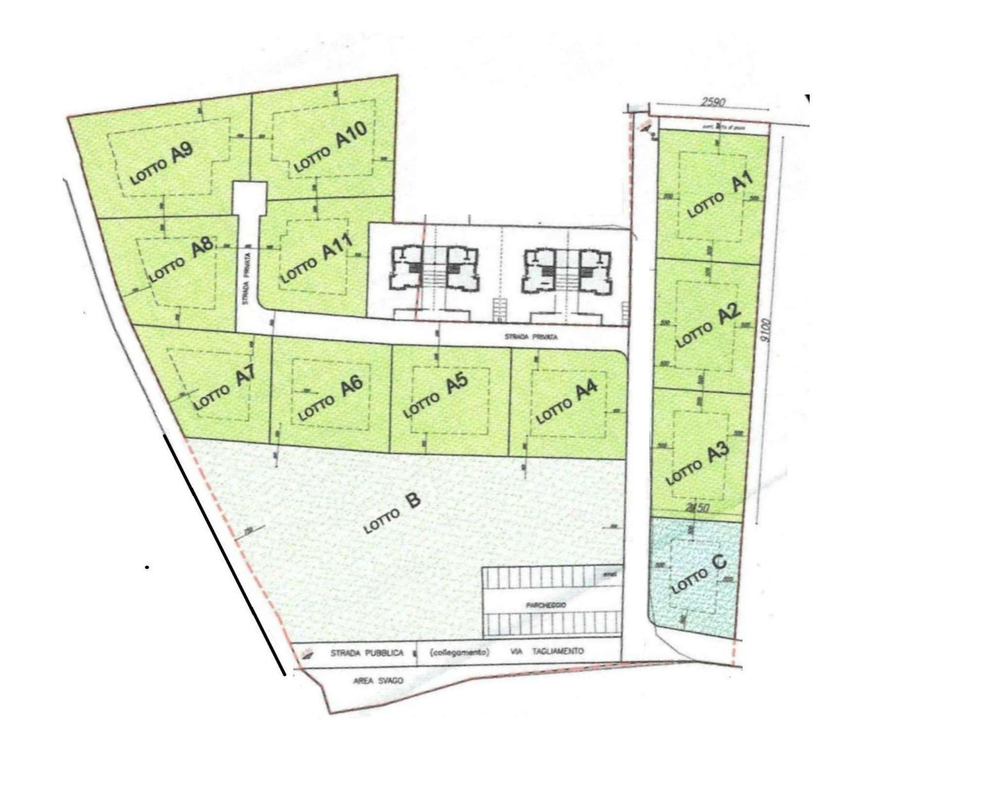 Terreno Edificabile Residenziale in Vendita a Appiano Gentile