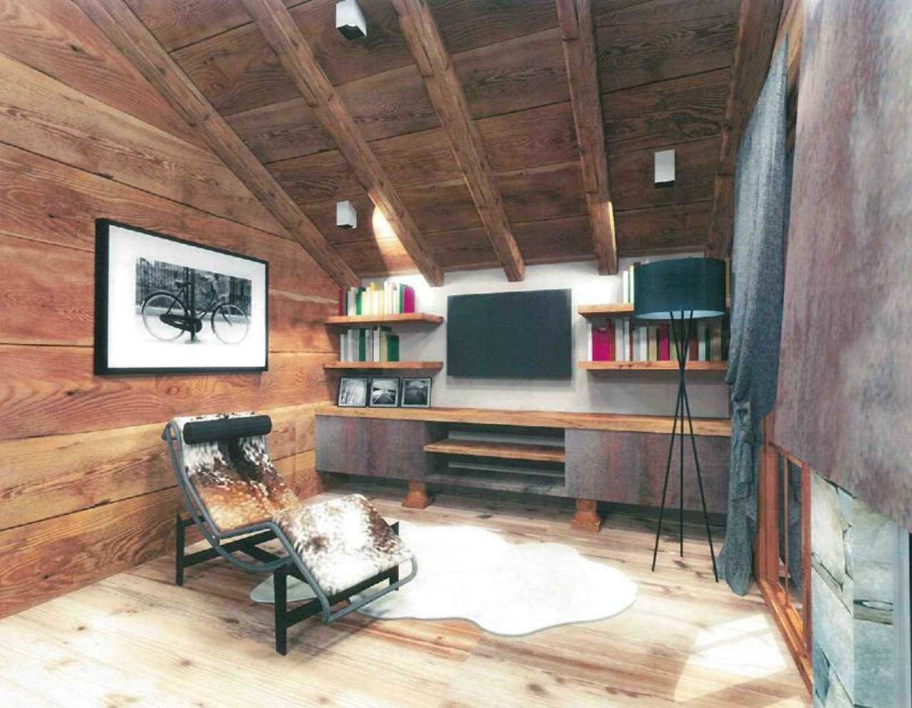 Appartamento in vendita a Cogne, 2 locali, prezzo € 190.000 | CambioCasa.it