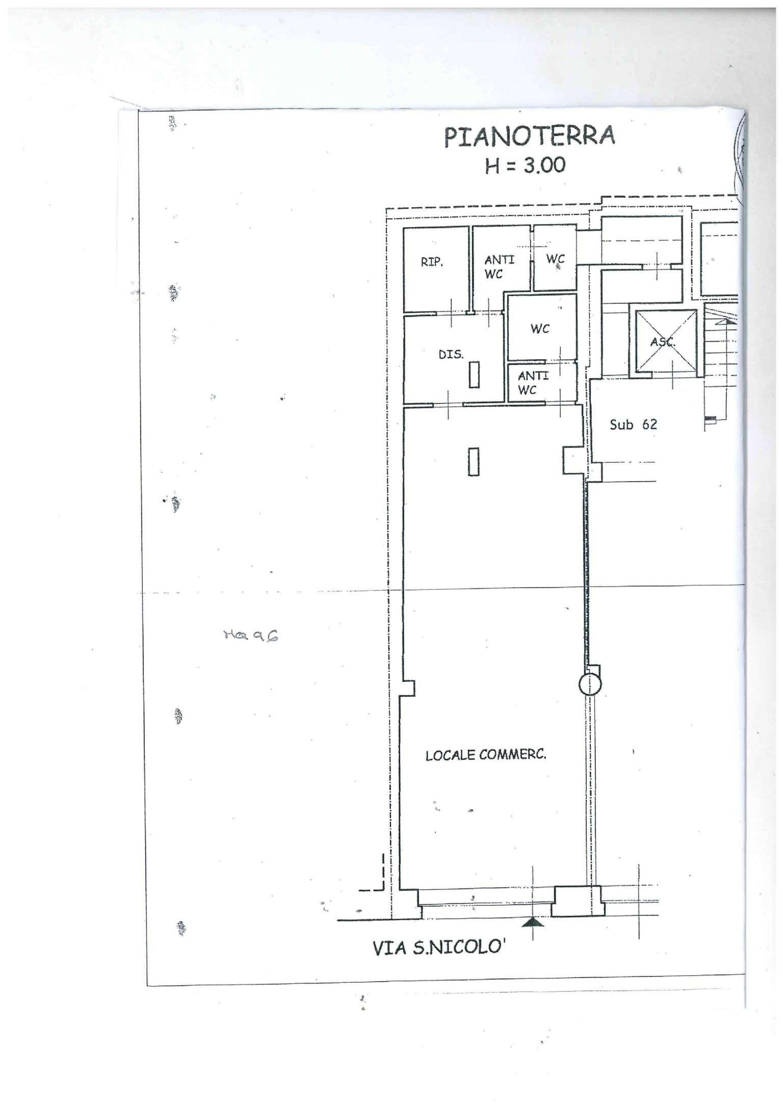 SAN NICOLO' locale d'affari in zona pedonale Rif. 7811598
