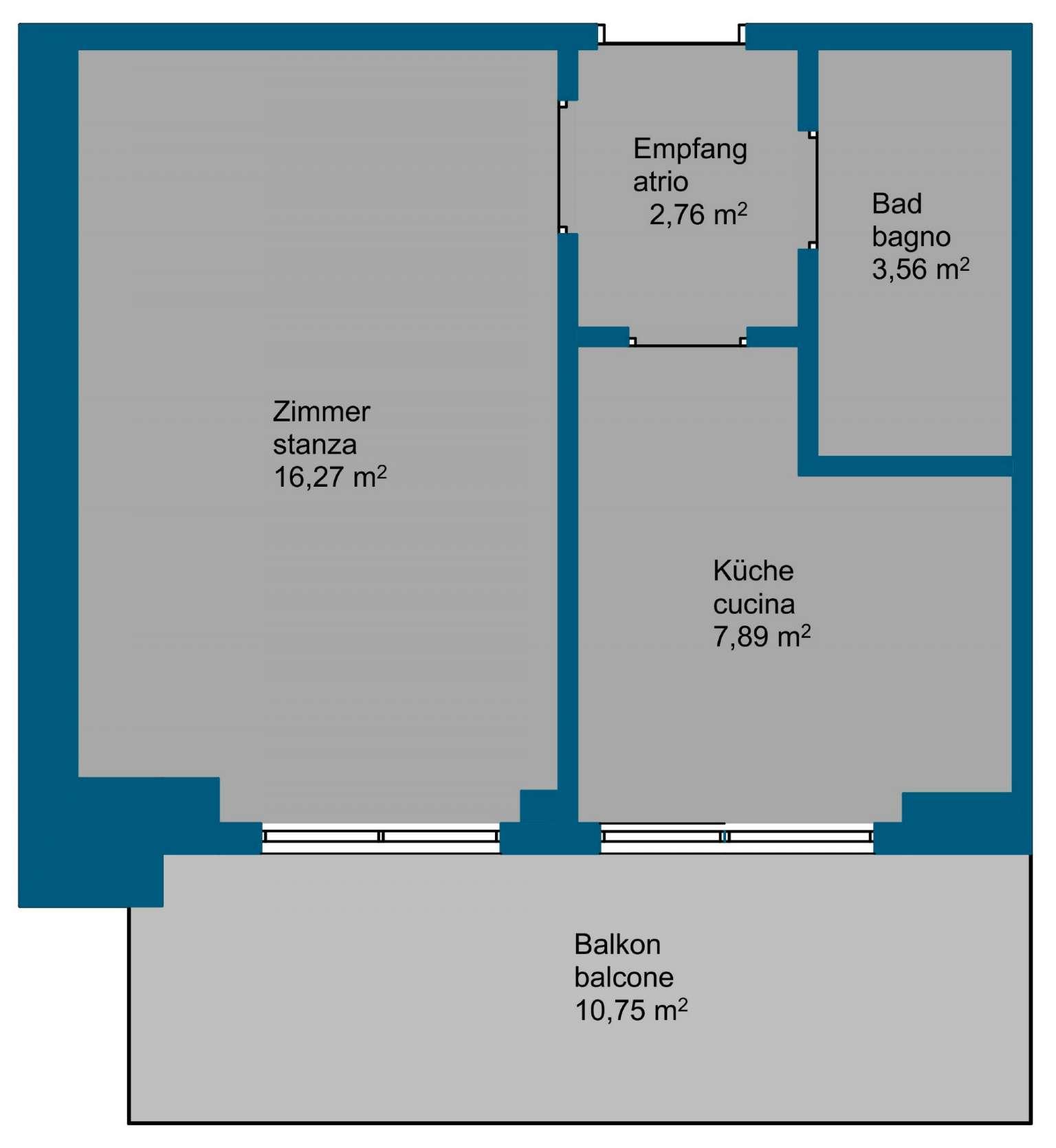 Appartamento da ristrutturare in posizione panoramica